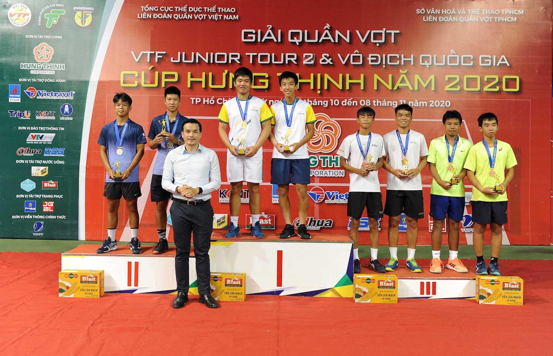 Hình ảnh: VTF Junior Tour 2 – Hung Thinh Cup 2020: Ngày vui của Chủ nhà số 1
