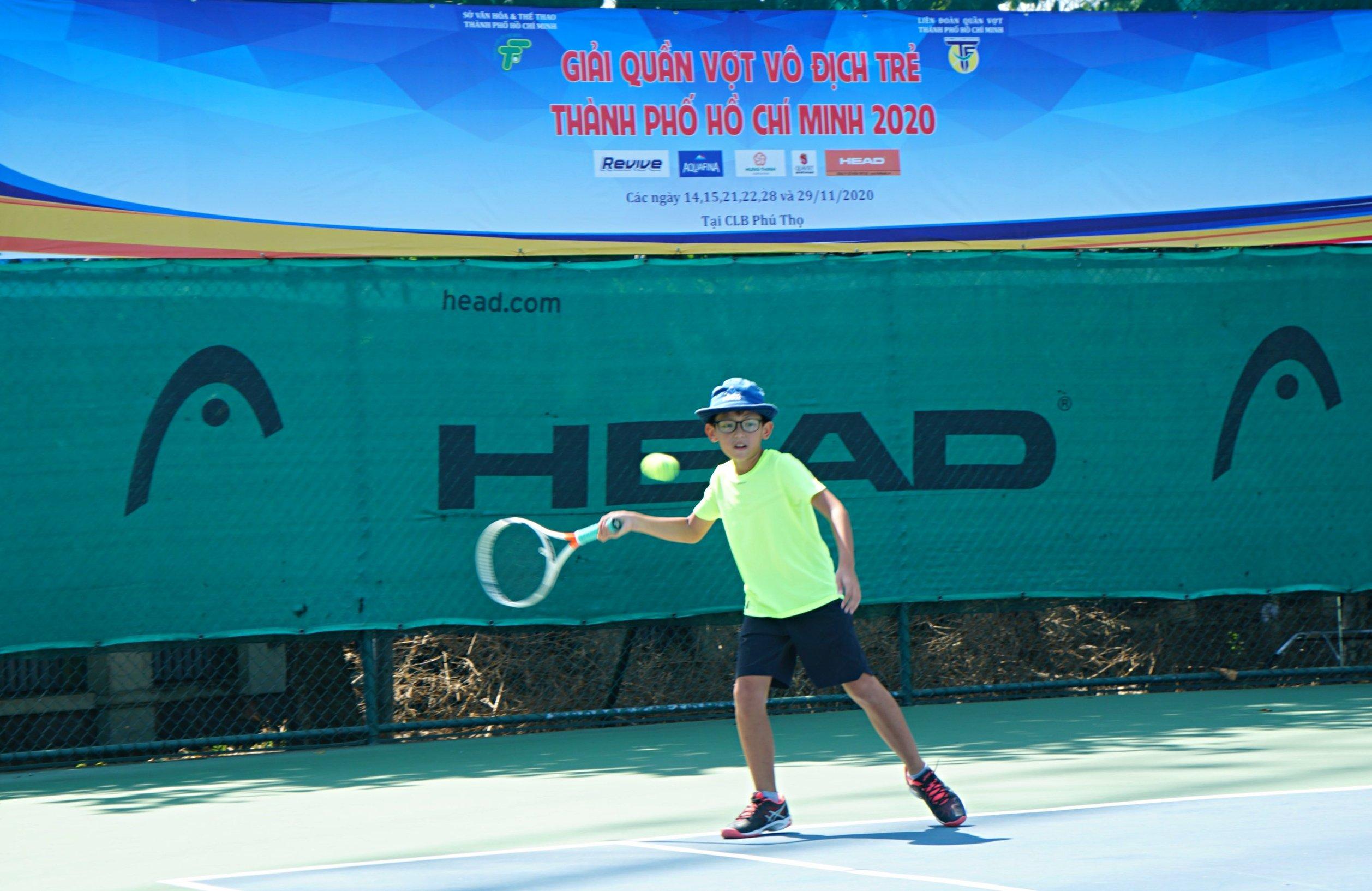 Hình ảnh: Khởi tranh giải quần vợt vô địch trẻ TP.HCM 2020 số 2