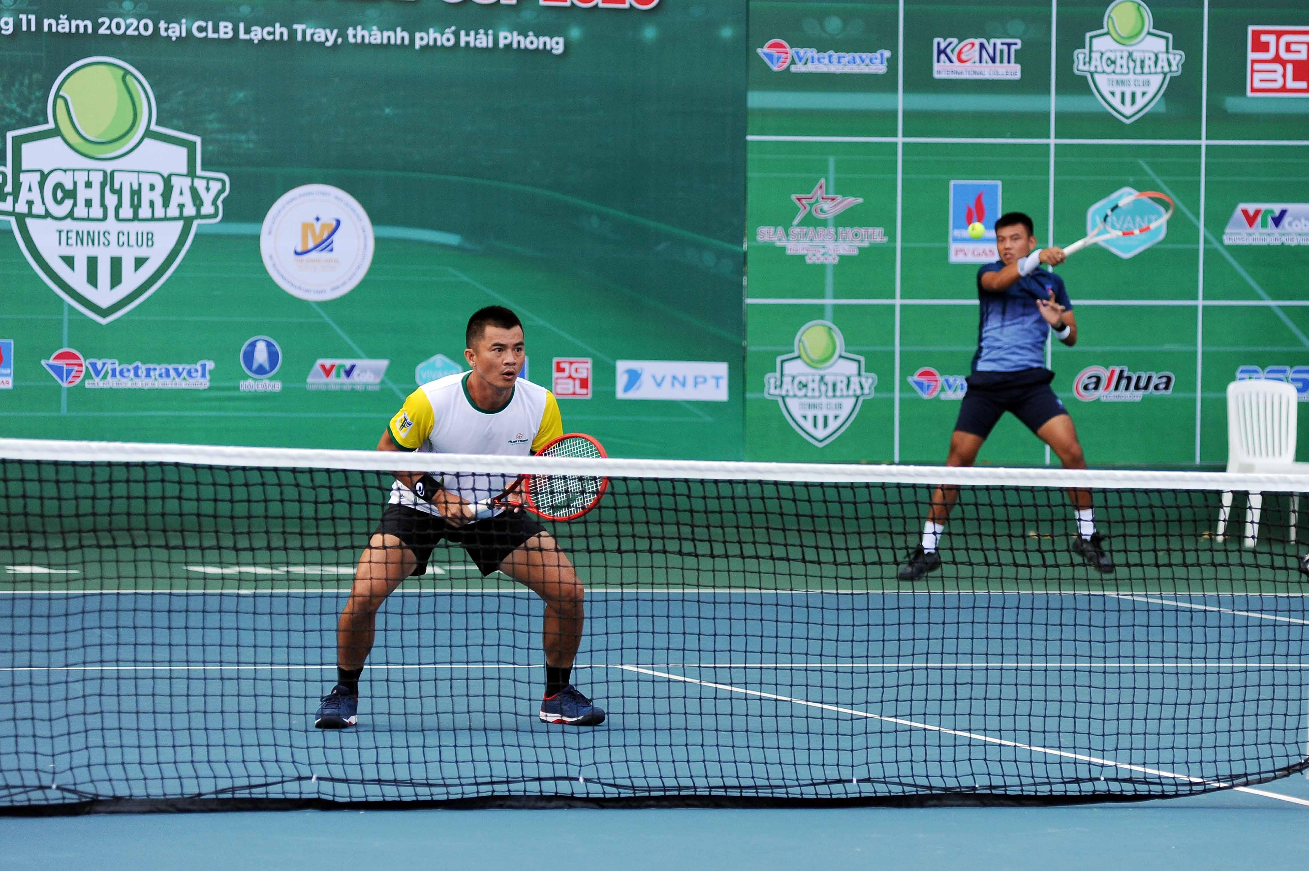 Hình ảnh: VTF Masters 500 – 2 – Lach Tray Cup 2020: Vua đánh đôi tăng sức mạnh cùng tay vợt số 1 Việt Nam số 1