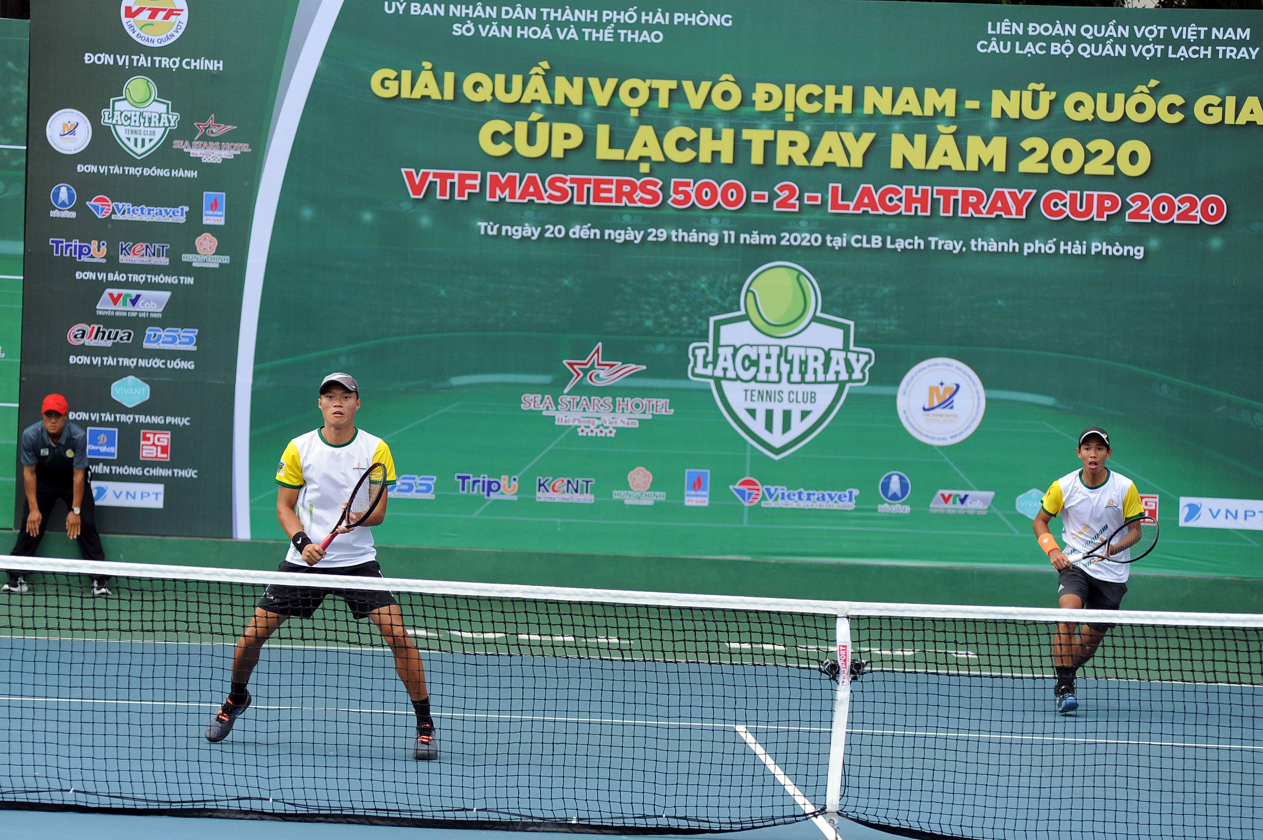 Hình ảnh: VTF Masters 500 – 2 – Lach Tray Cup 2020: Vua đánh đôi tăng sức mạnh cùng tay vợt số 1 Việt Nam số 3