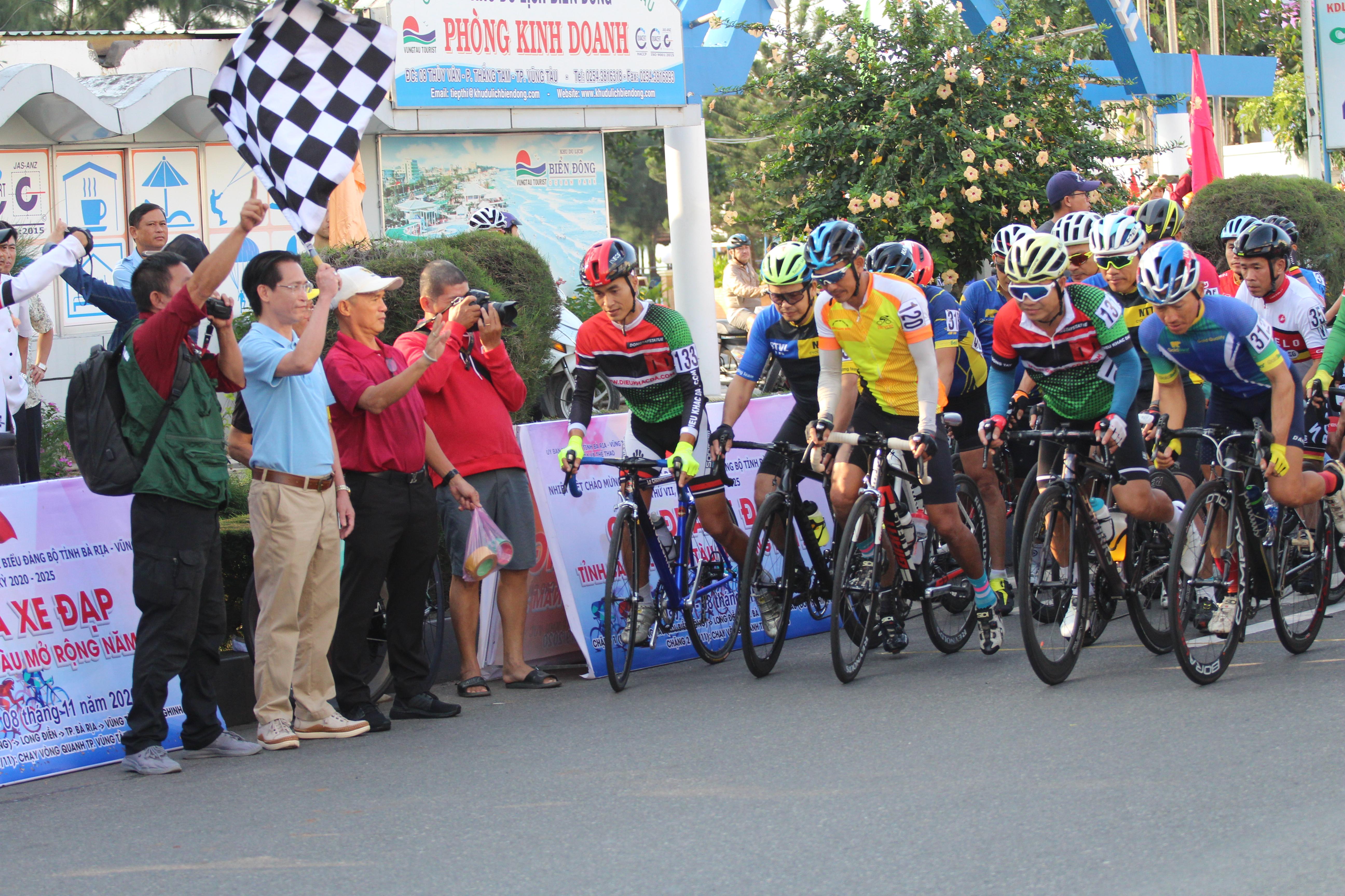 Hình ảnh: Sôi động giải đua xe đạp tỉnh Bà Rịa - Vũng Tàu mở rộng 2020 số 1