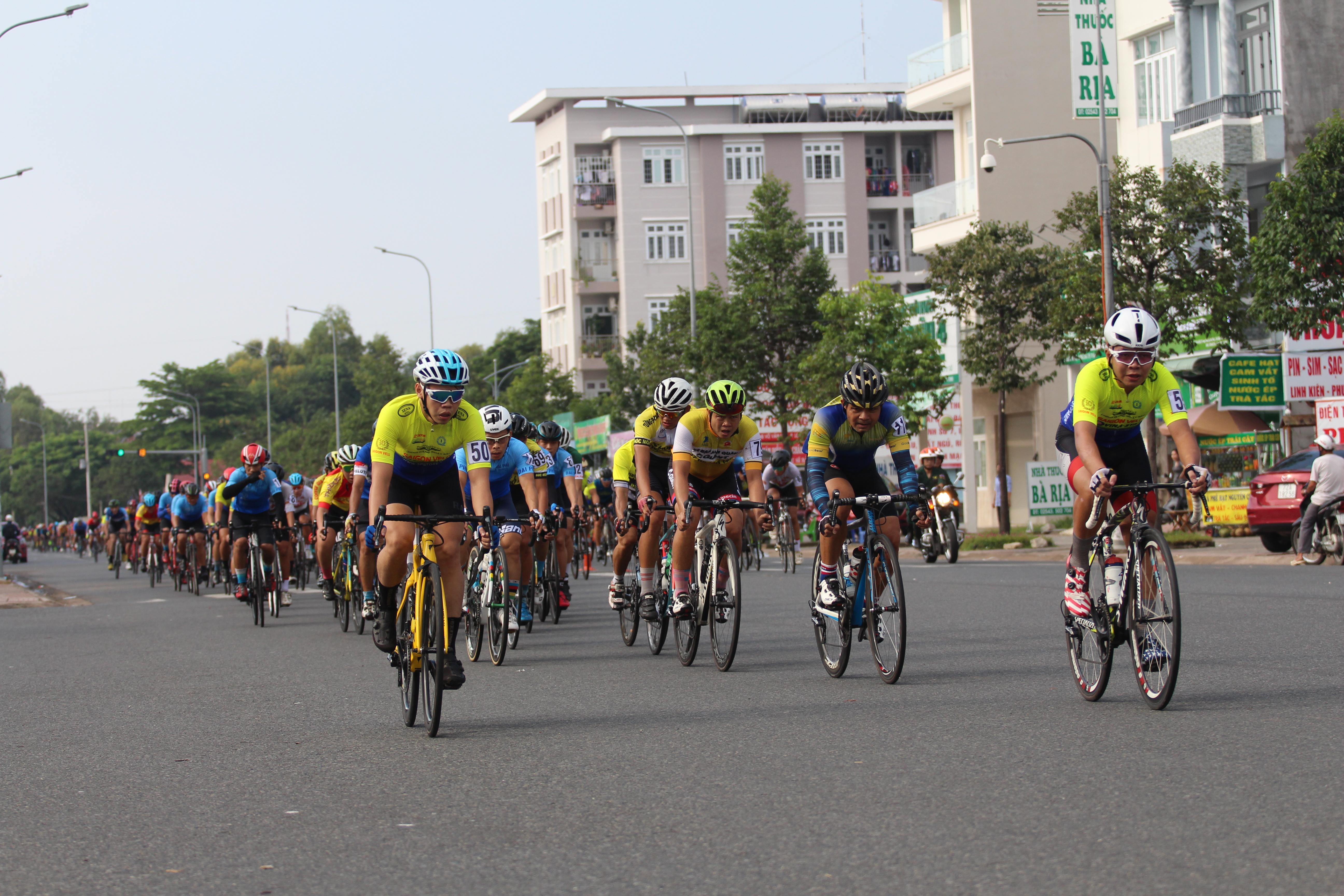Hình ảnh: Sôi động giải đua xe đạp tỉnh Bà Rịa - Vũng Tàu mở rộng 2020 số 2
