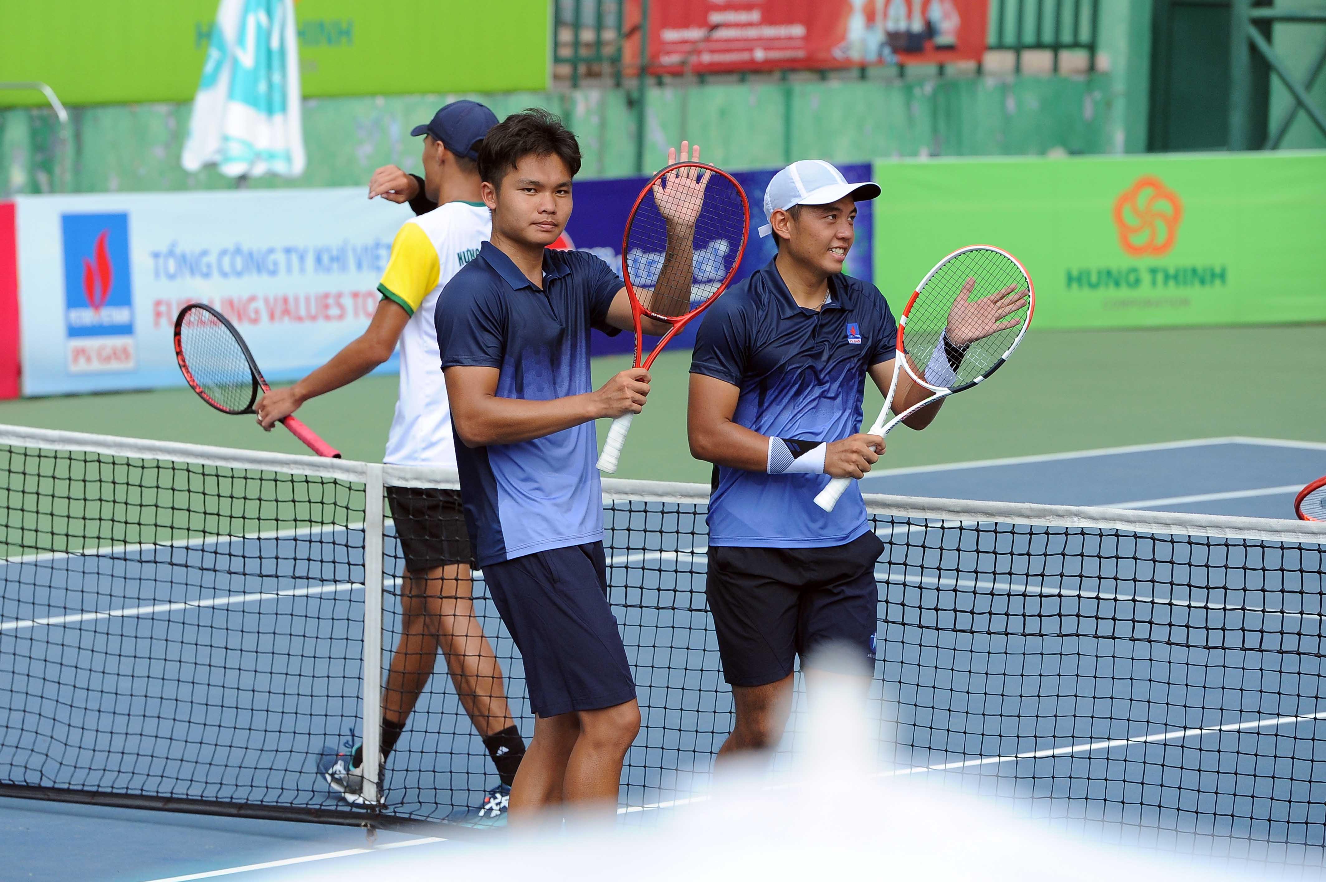 Hình ảnh: Giải quần vợt vô địch quốc gia 2020: Xác định các nhà vô địch nội dung đánh đôi số 2