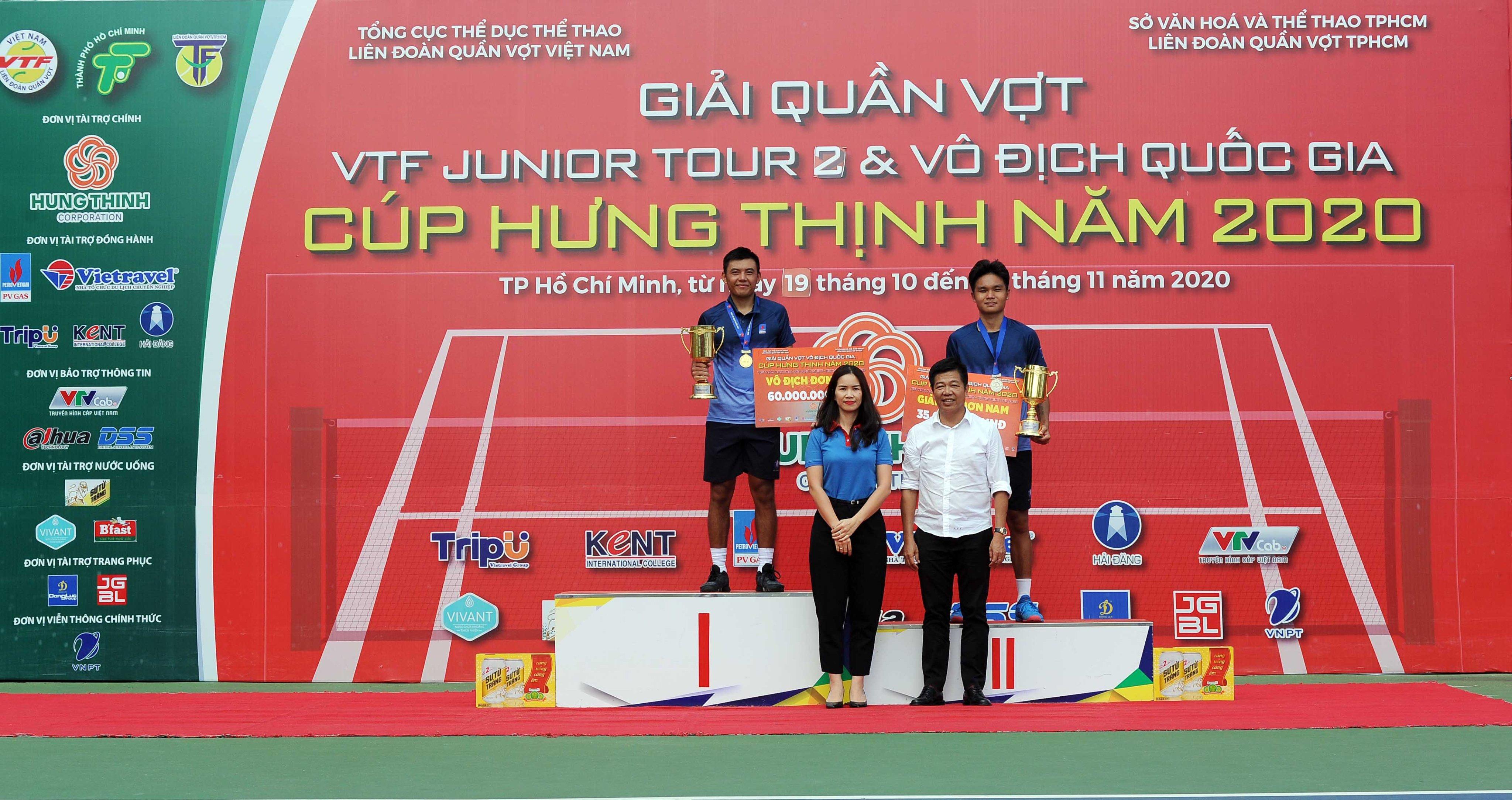 Hình ảnh: Giải quần vợt Vô địch Quốc gia – Cúp Hưng Thịnh năm 2020:  Lý Hoàng Nam giành  3 trên 7 HCV số 2