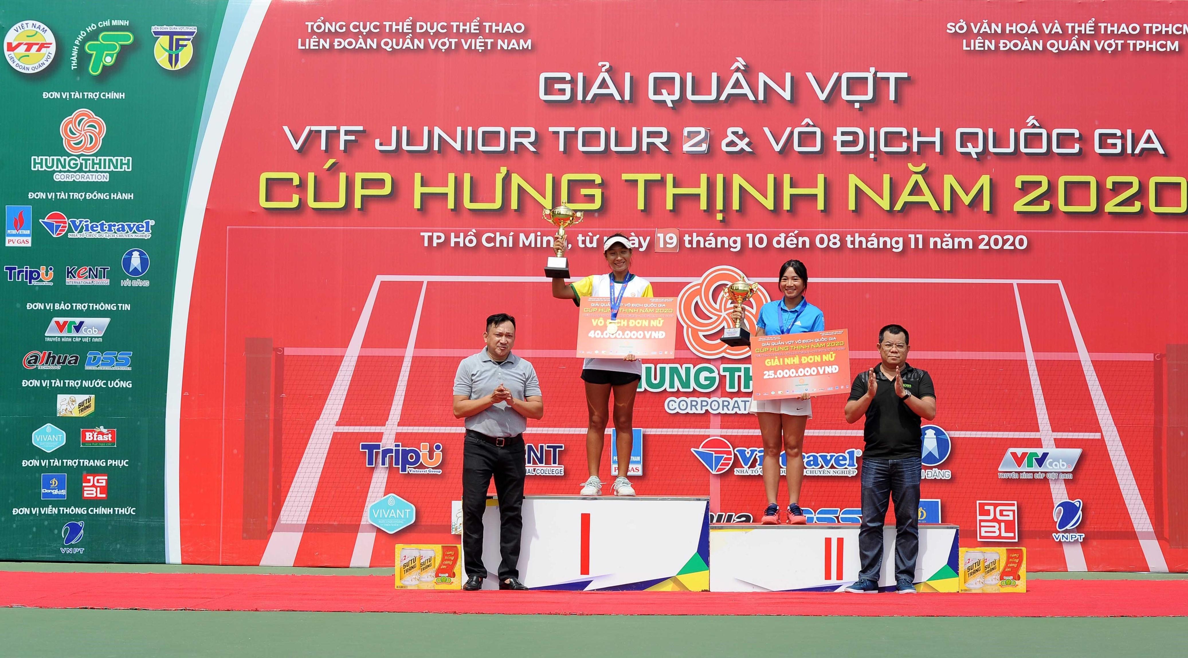 Hình ảnh: Giải quần vợt Vô địch Quốc gia – Cúp Hưng Thịnh năm 2020:  Lý Hoàng Nam giành  3 trên 7 HCV số 3