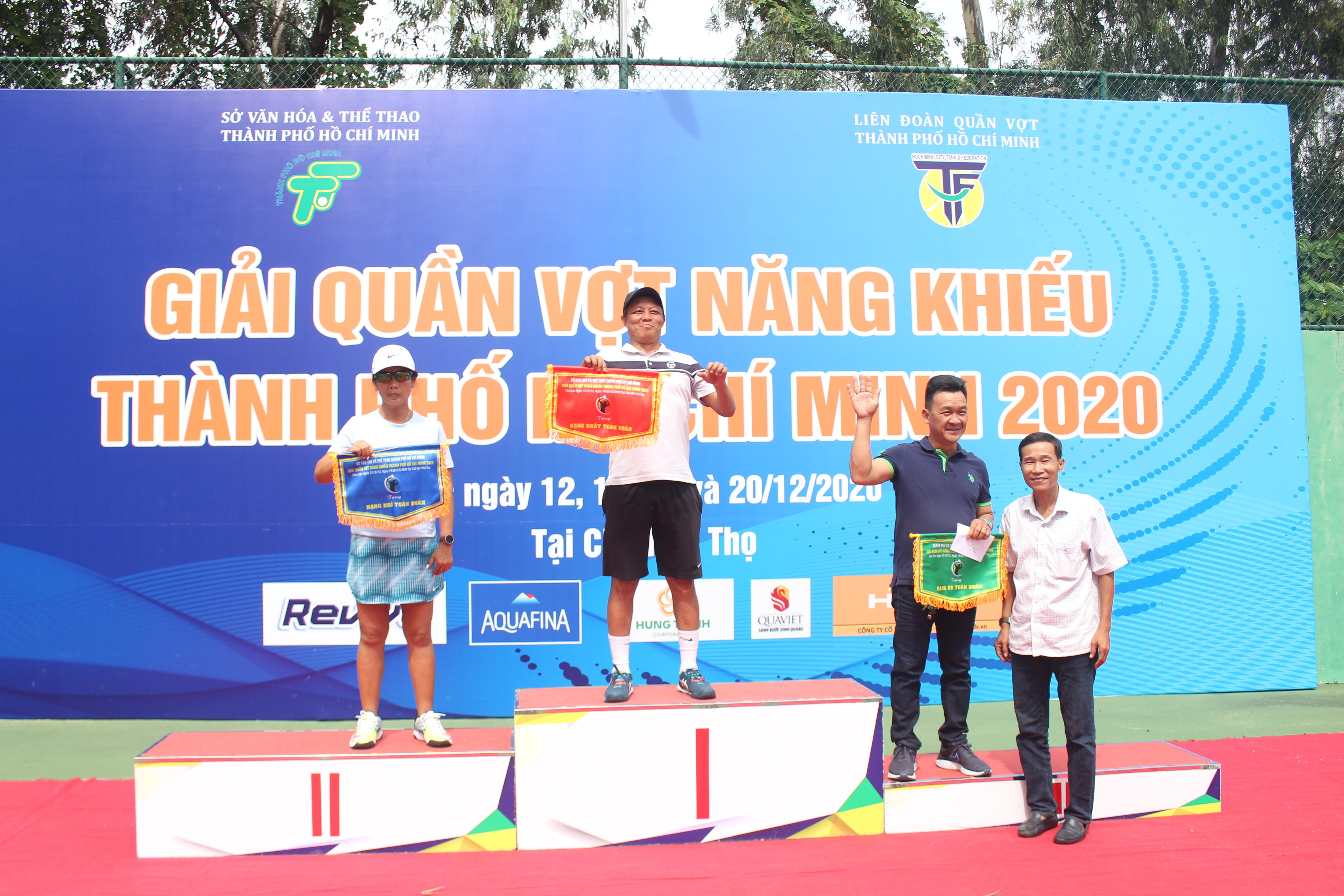 Hình ảnh: Quận 6 nhất toàn đoàn giải quần vợt năng khiếu TP.HCM 2020 số 2