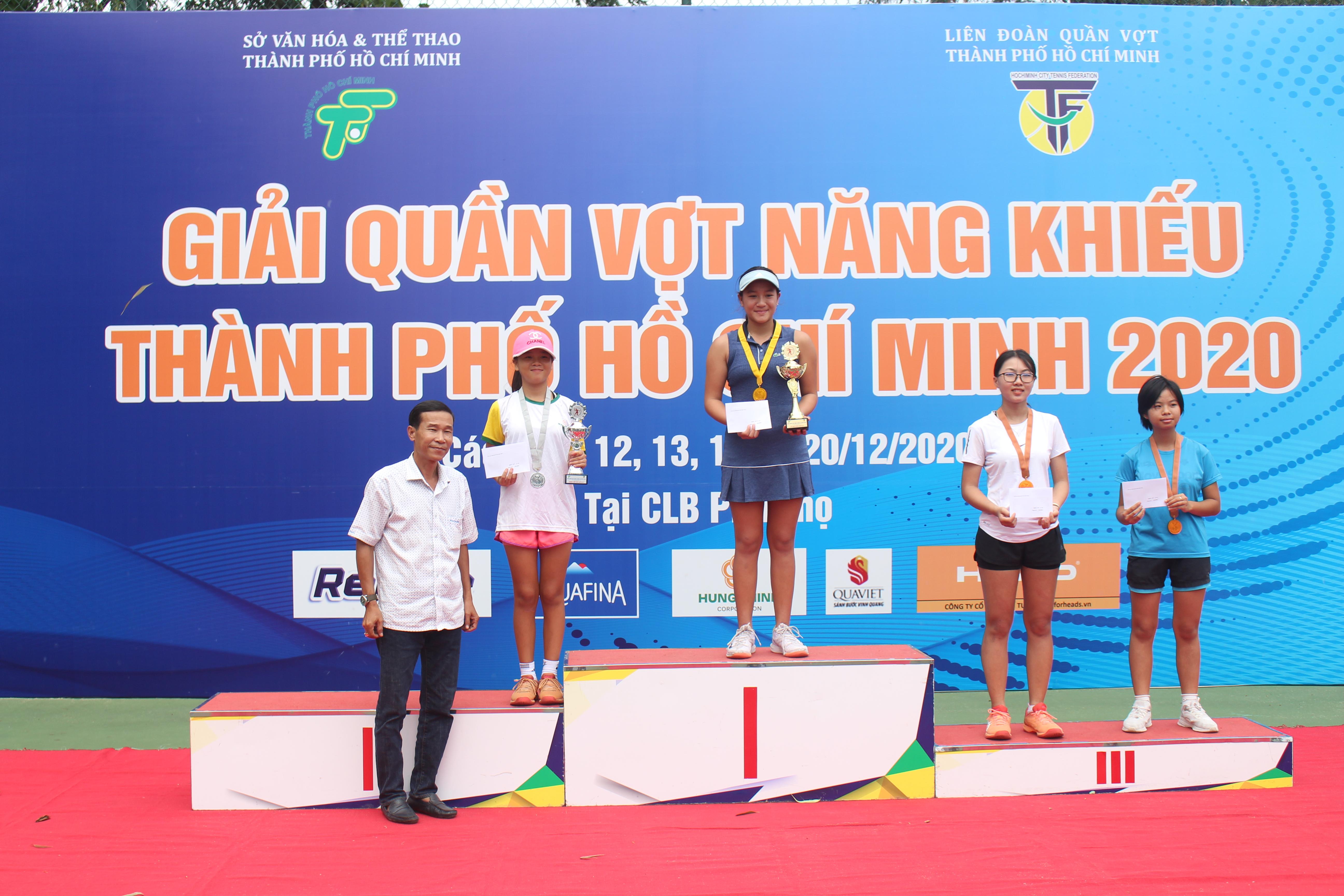 Hình ảnh: Quận 6 nhất toàn đoàn giải quần vợt năng khiếu TP.HCM 2020 số 1