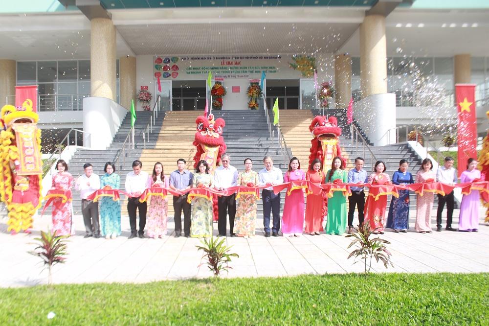 Hình ảnh: Khánh thành Trung tâm Thể dục Thể thao quận Gò Vấp số 2