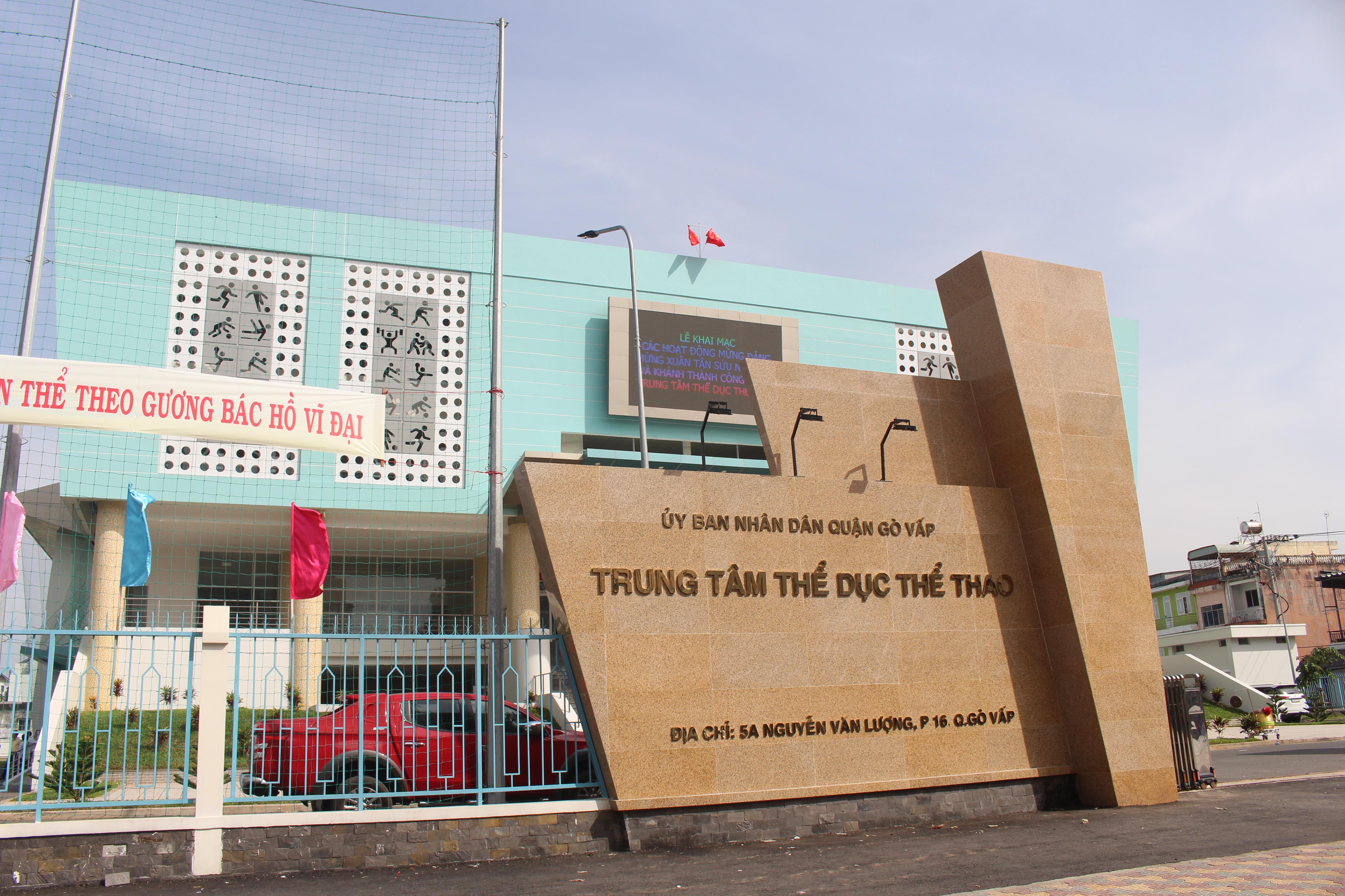 Hình ảnh: Khánh thành Trung tâm Thể dục Thể thao quận Gò Vấp số 3