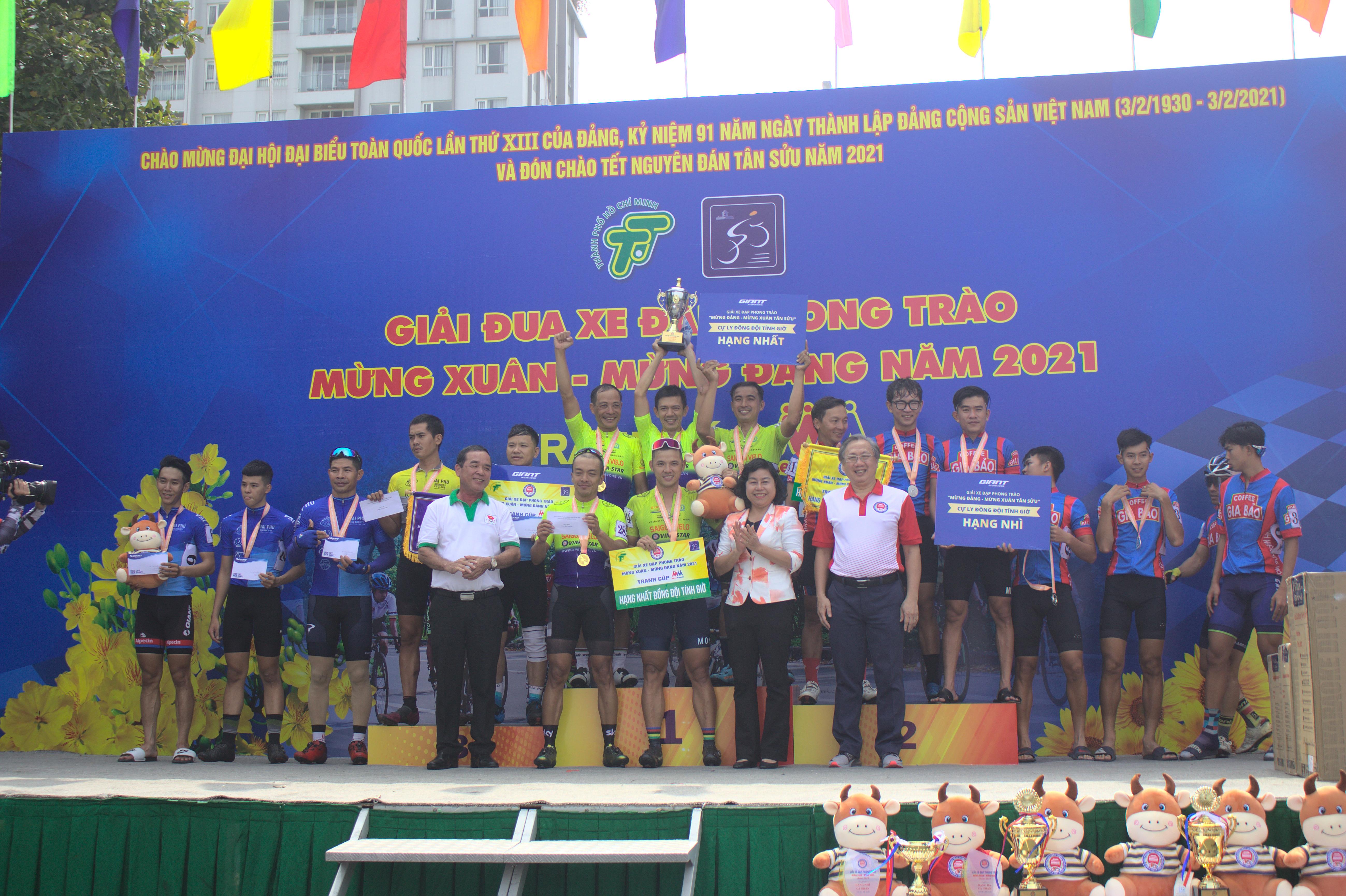 Hình ảnh: Sôi nổi giải xe đạp phong trào mừng Đảng - mừng Xuân Tân Sửu 2021 số 6