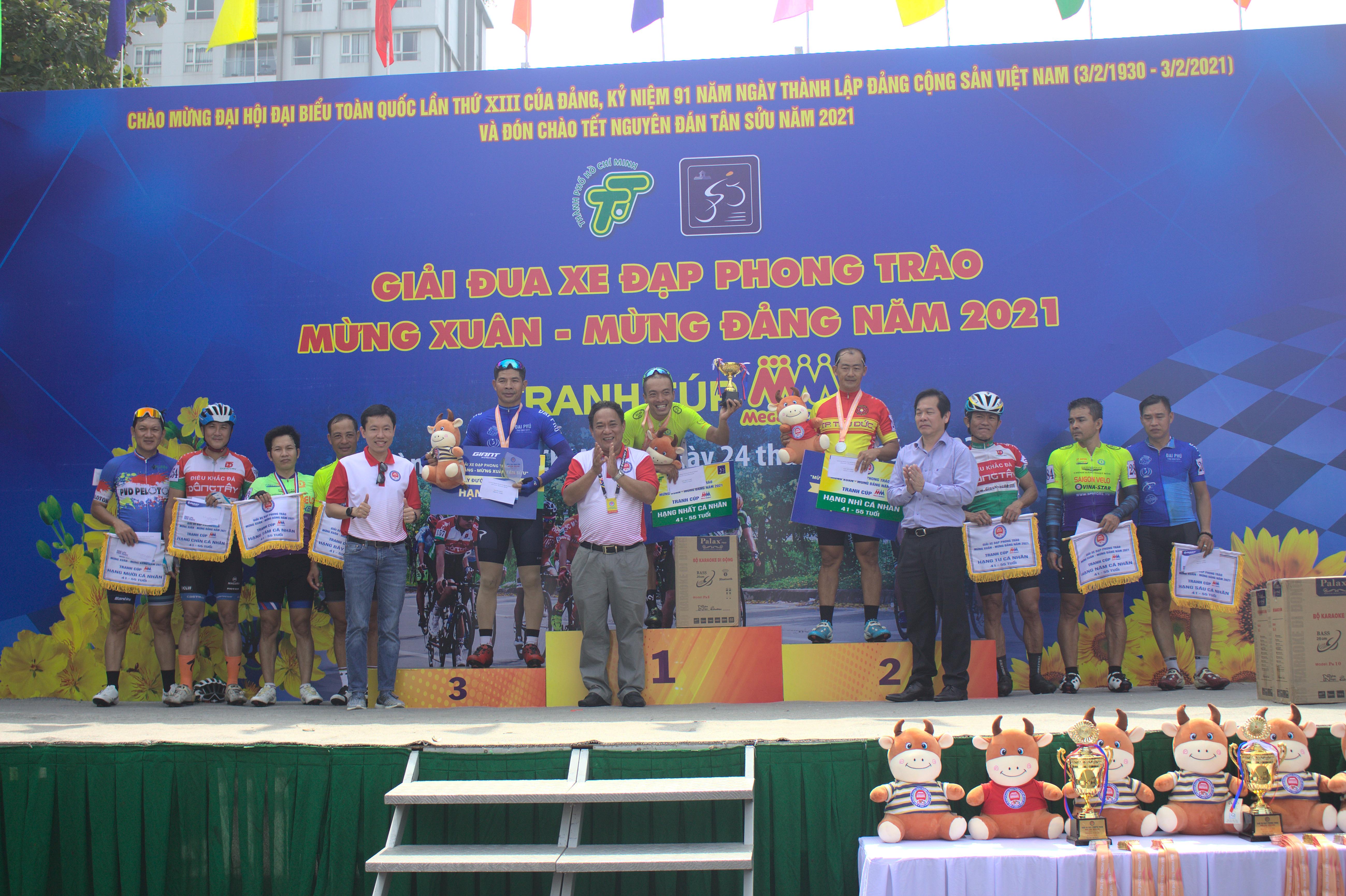 Hình ảnh: Sôi nổi giải xe đạp phong trào mừng Đảng - mừng Xuân Tân Sửu 2021 số 7