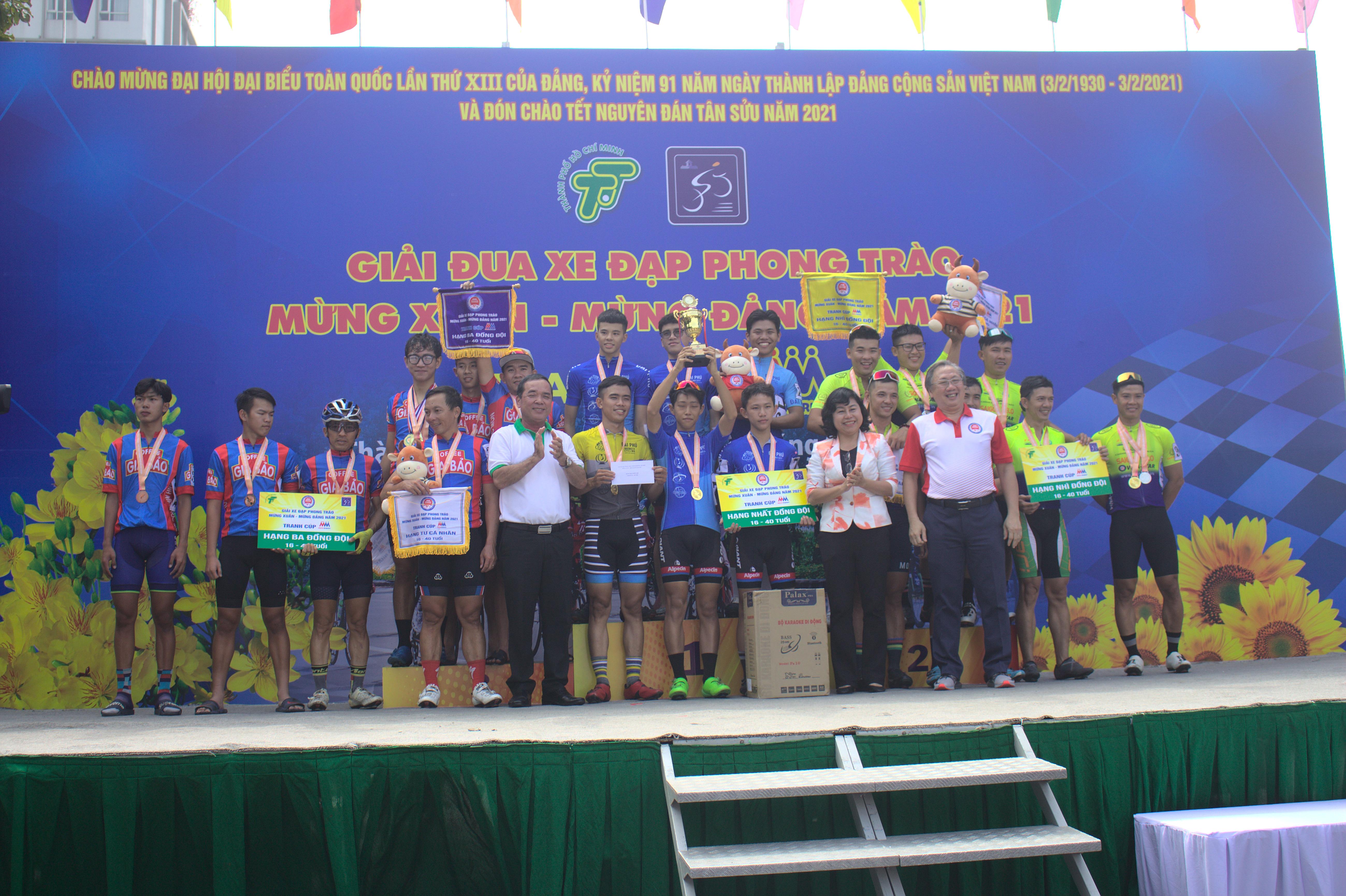 Hình ảnh: Sôi nổi giải xe đạp phong trào mừng Đảng - mừng Xuân Tân Sửu 2021 số 8
