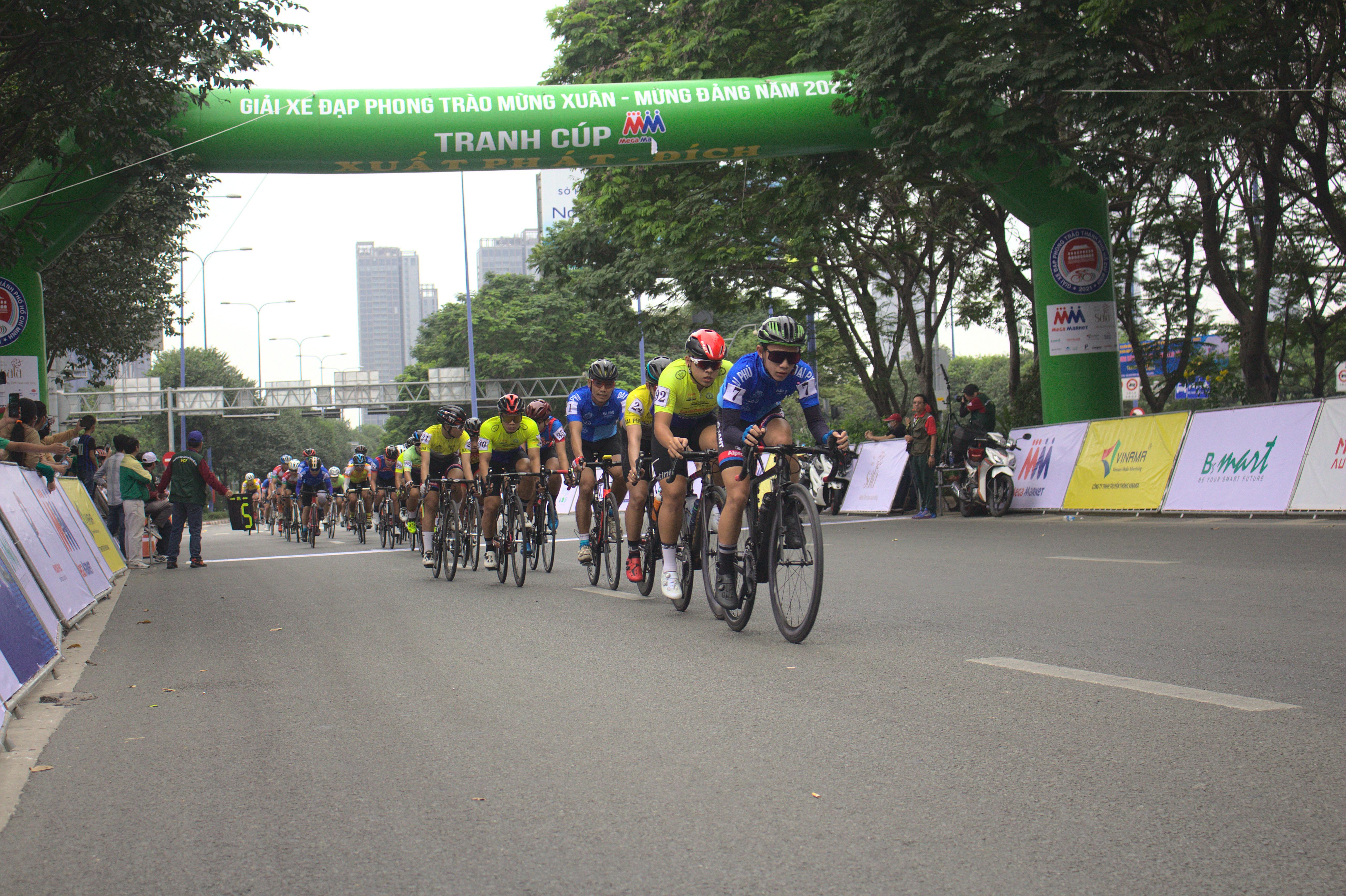 Hình ảnh: Sôi nổi giải xe đạp phong trào mừng Đảng - mừng Xuân Tân Sửu 2021 số 4