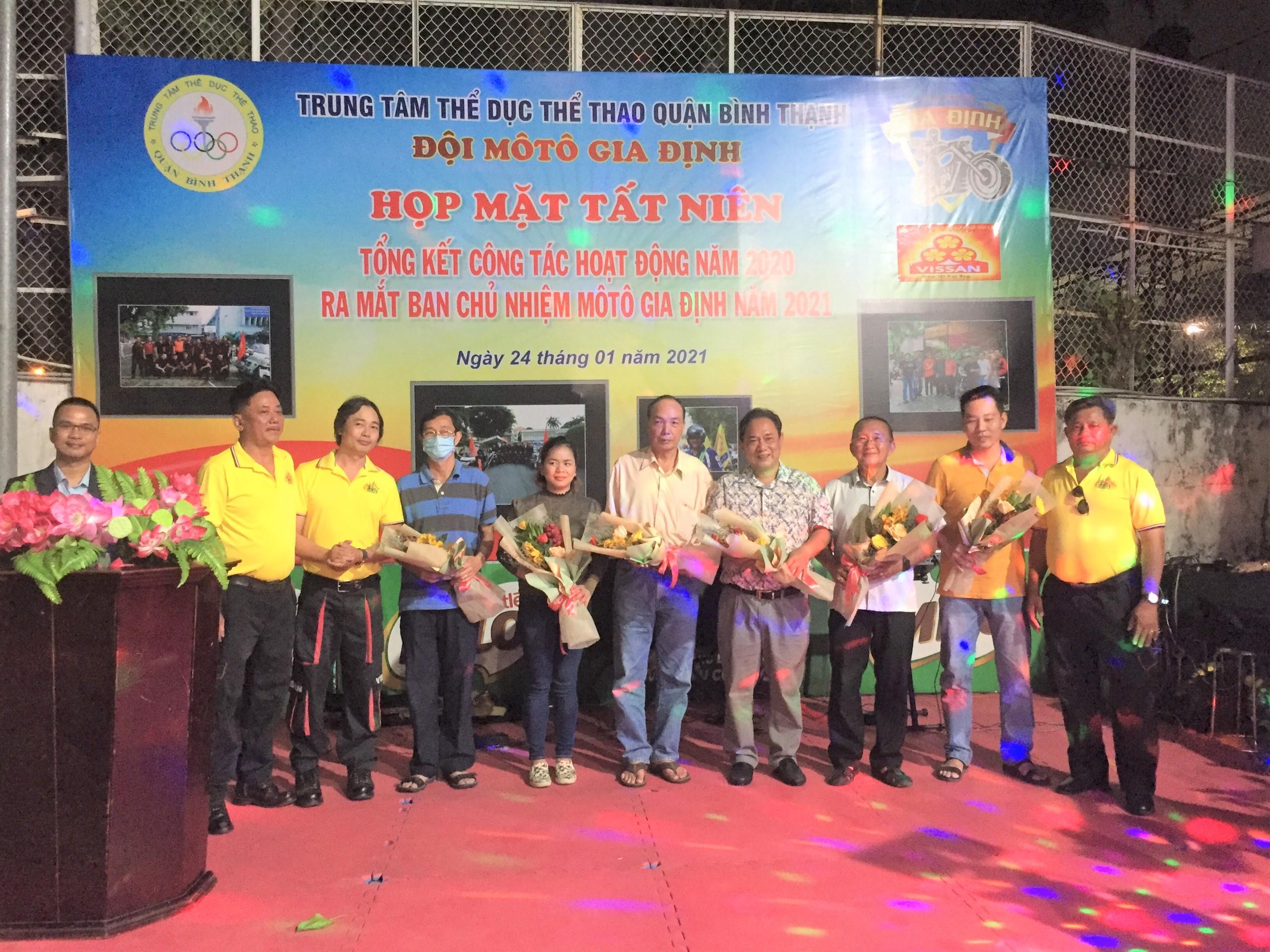Hình ảnh: CLB Moto Gia Định Quận Bình Thạnh ra mắt Ban chủ nhiệm mới số 1