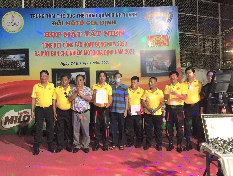 Hình ảnh: CLB Moto Gia Định Quận Bình Thạnh ra mắt Ban chủ nhiệm mới số 3