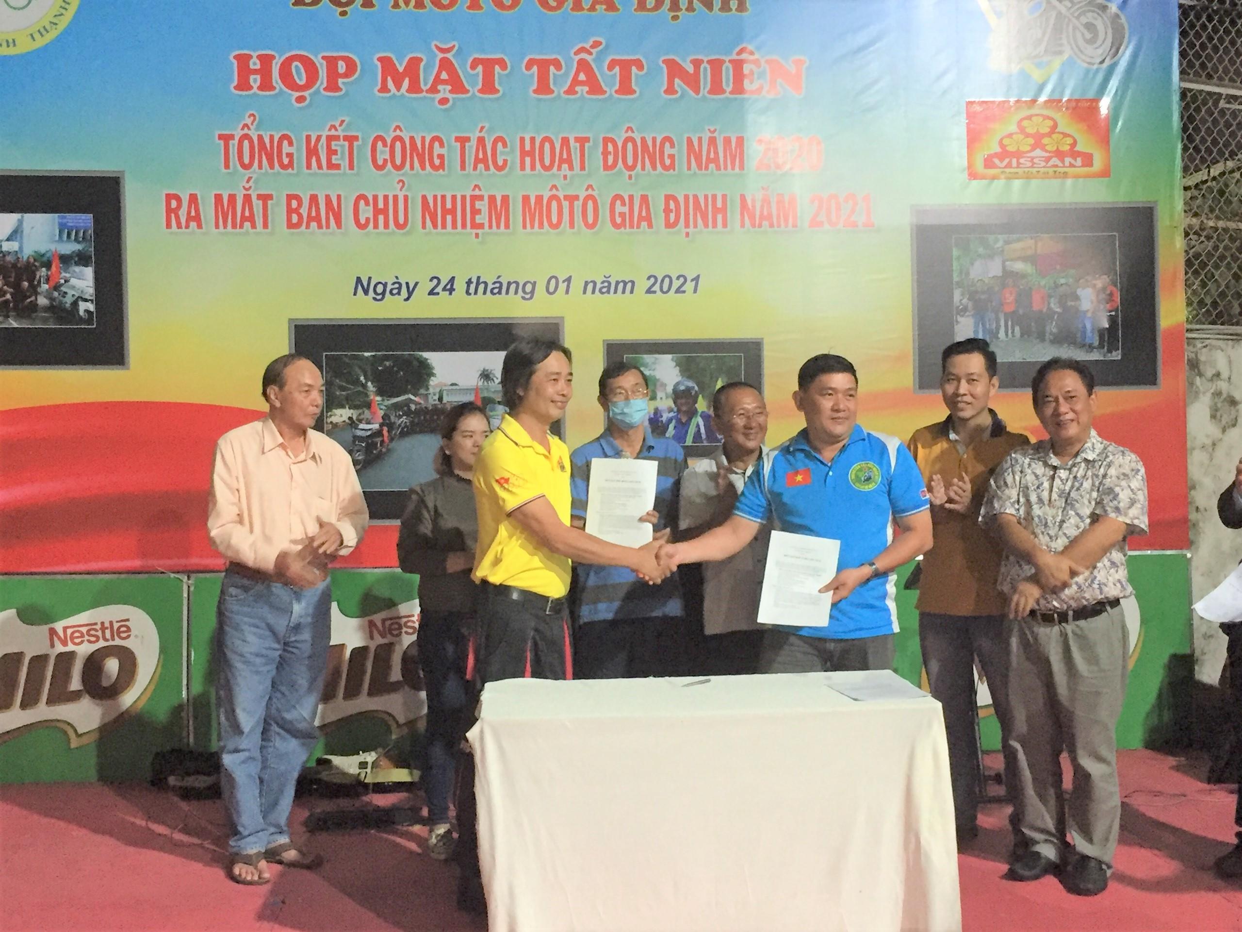 Hình ảnh: CLB Moto Gia Định Quận Bình Thạnh ra mắt Ban chủ nhiệm mới số 5
