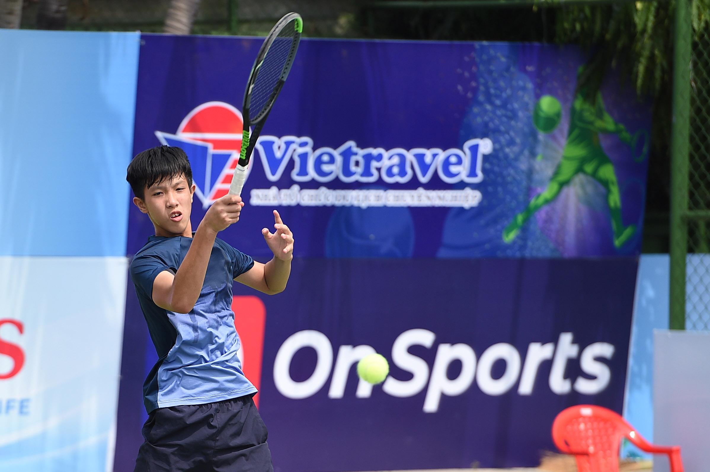 Hình ảnh: Giải quần vợt VTF Masters 500 đầu tiên trong năm 2021 chính khởi tranh số 2