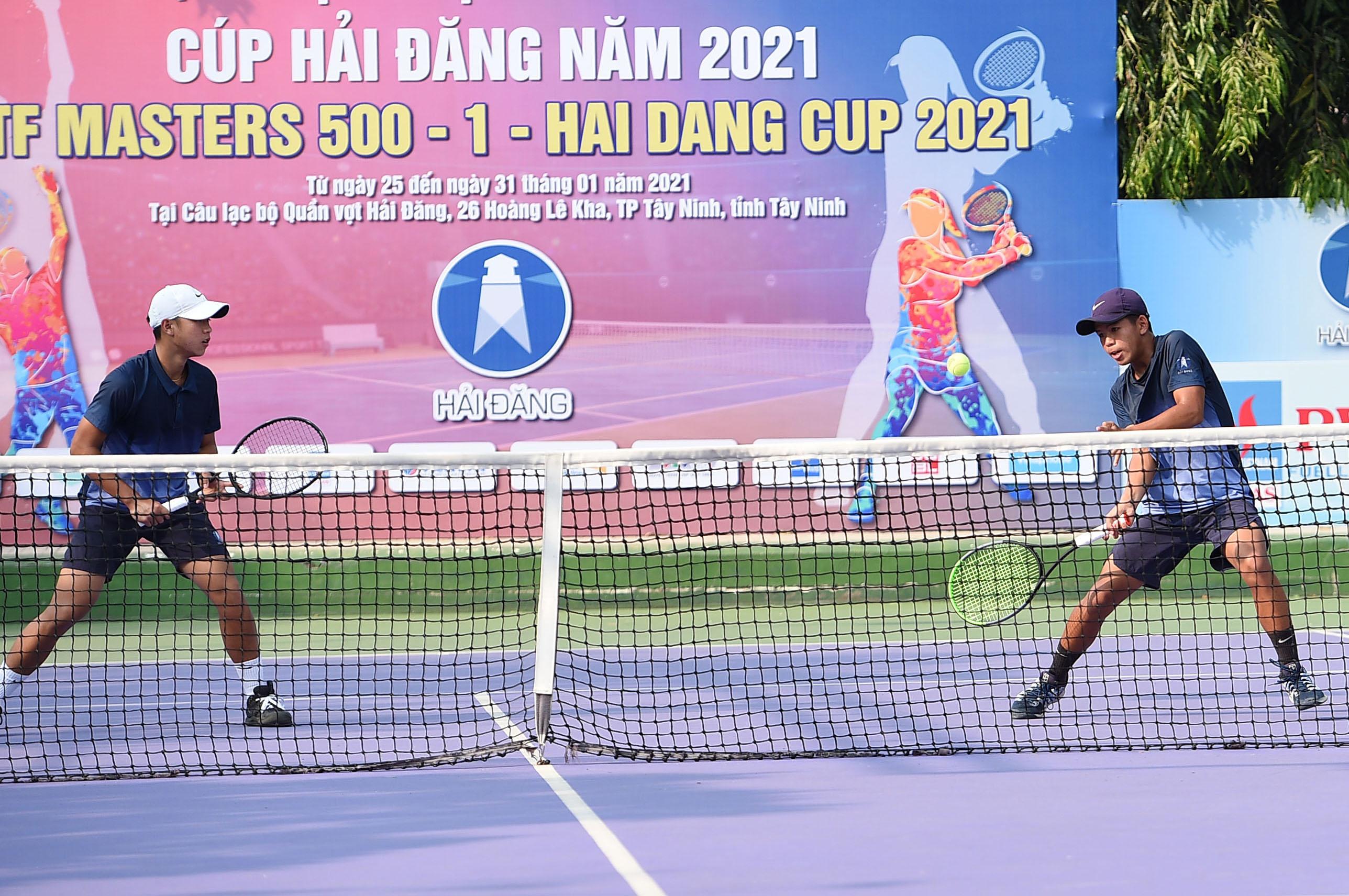 Hình ảnh: Giải quần vợt VTF Masters 500 đầu tiên trong năm 2021 chính khởi tranh số 3