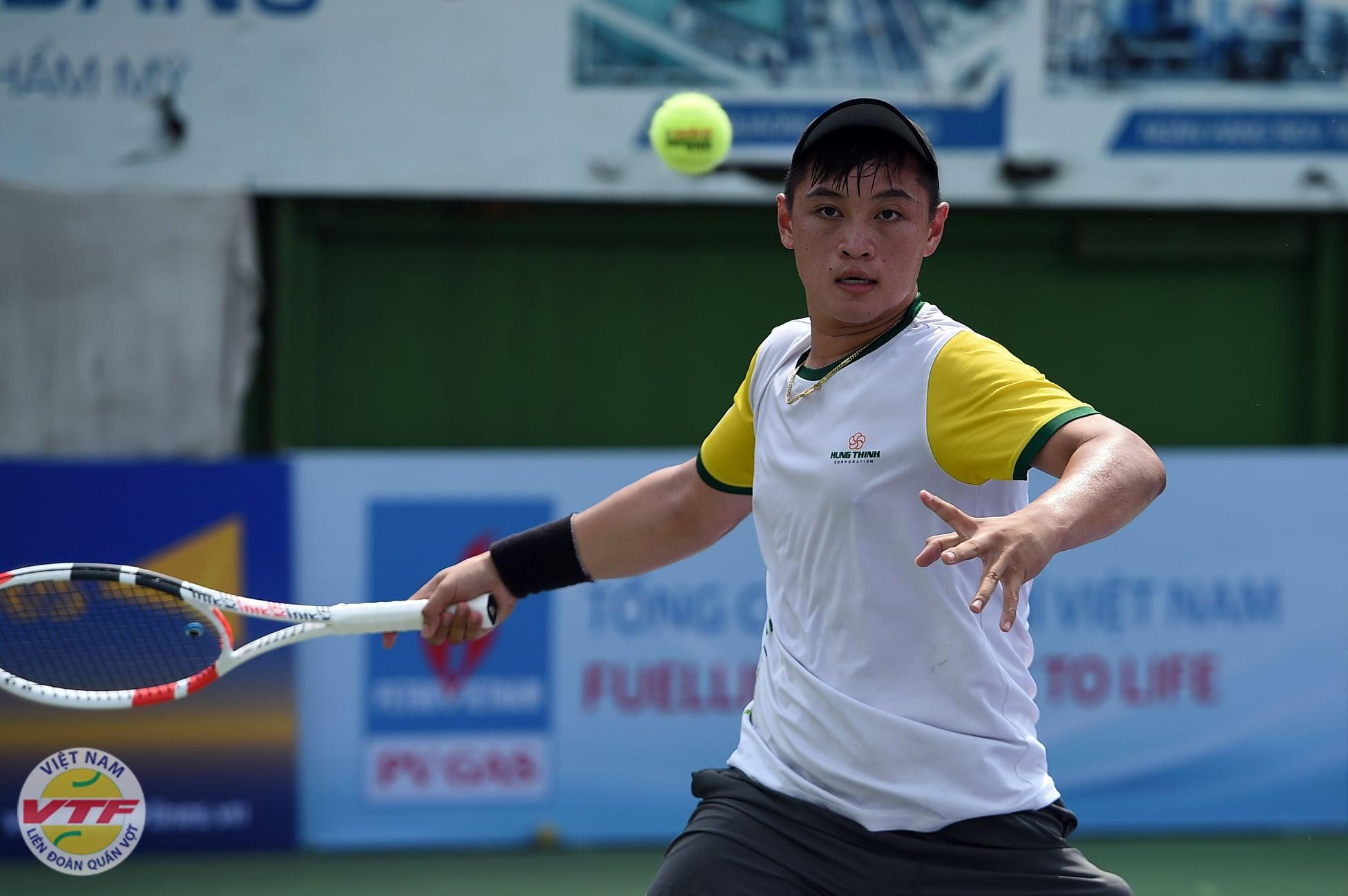 Hình ảnh: Giải quần vợt VTF Masters 500 đầu tiên trong năm 2021 chính khởi tranh số 1