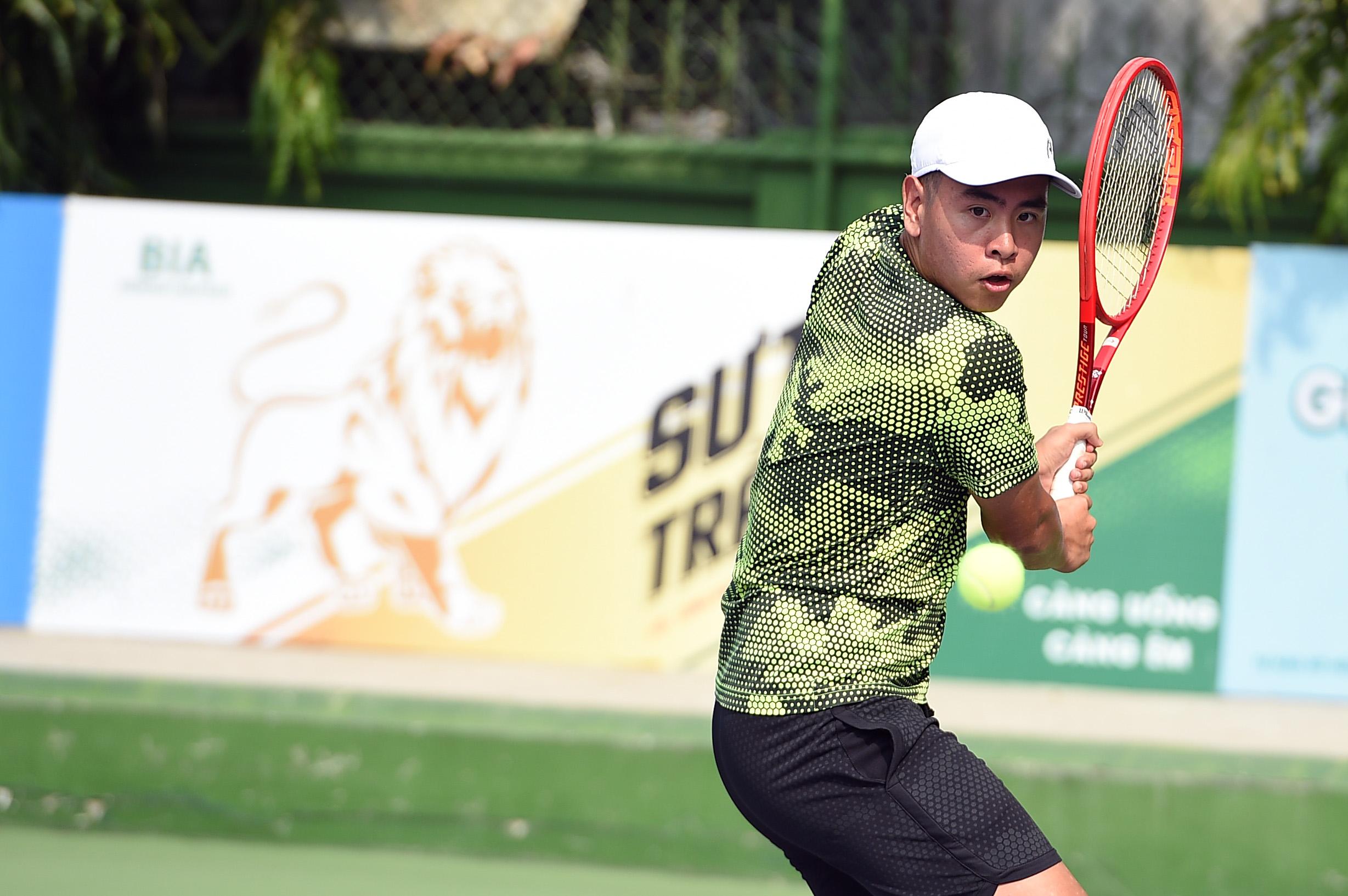 Hình ảnh: VTF Masters 500 – 1 – Hai Dang Cup 2021: Các tay vợt mạnh thắng dễ số 2