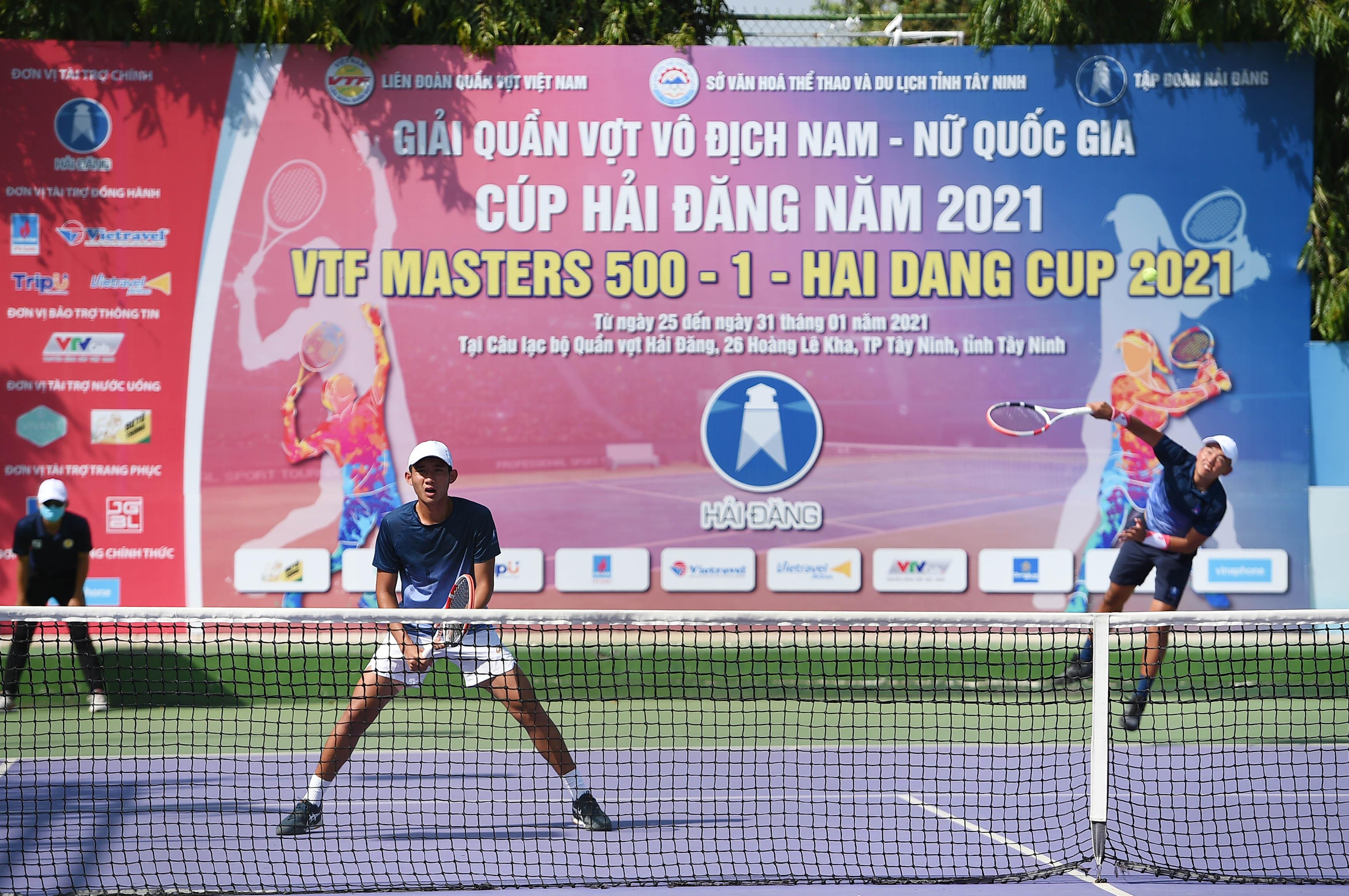 Hình ảnh: VTF Masters 500 – 1 – Hai Dang Cup 2021: Ấn tượng tài năng trẻ Nguyễn Quang Vinh số 3
