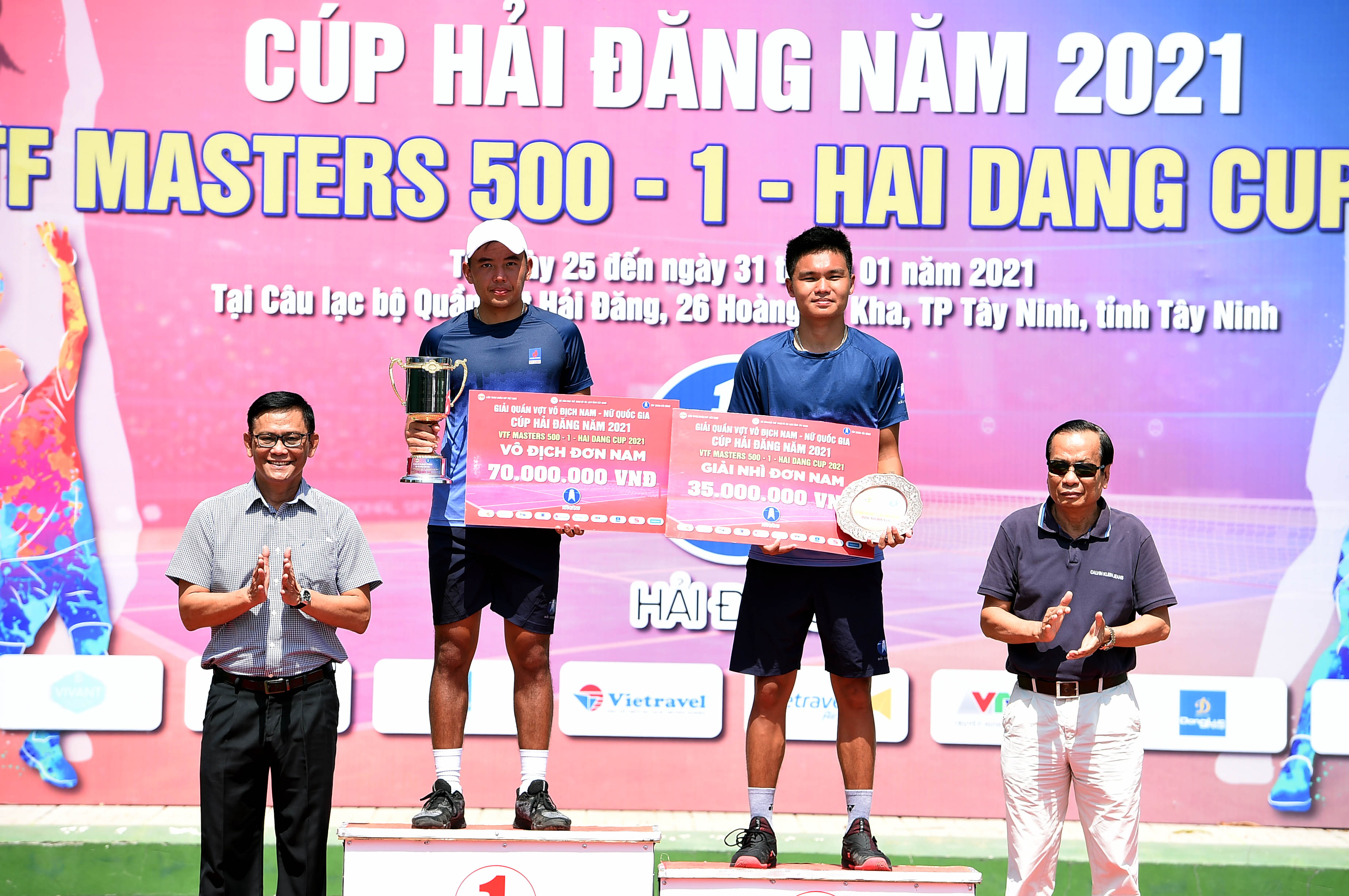 Hình ảnh: Hoàng Nam giành cú đúp vô địch VTF Masters 500 – 1 – Hai Dang Cup 2021 số 3