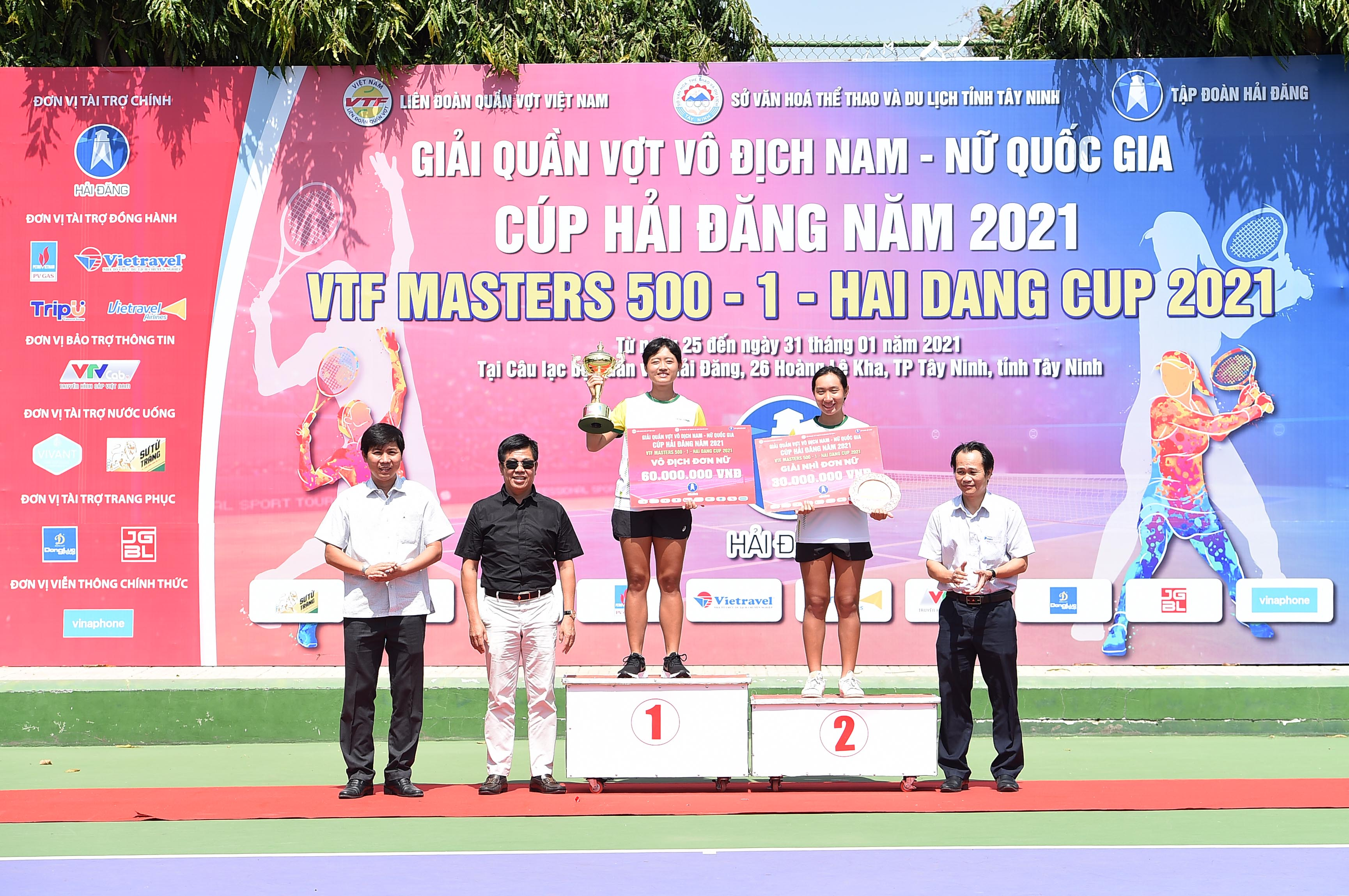 Hình ảnh: Hoàng Nam giành cú đúp vô địch VTF Masters 500 – 1 – Hai Dang Cup 2021 số 4