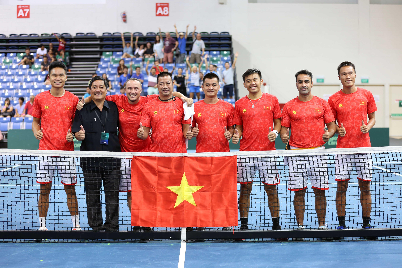 Hình ảnh: Tin vui đầu năm của Quần vợt Việt Nam số 4