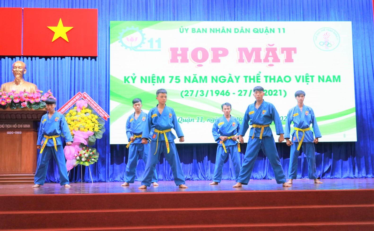 Hình ảnh: Quận 11 tổ chức họp mặt kỷ niệm 75 năm Ngày Thể thao Việt Nam số 1