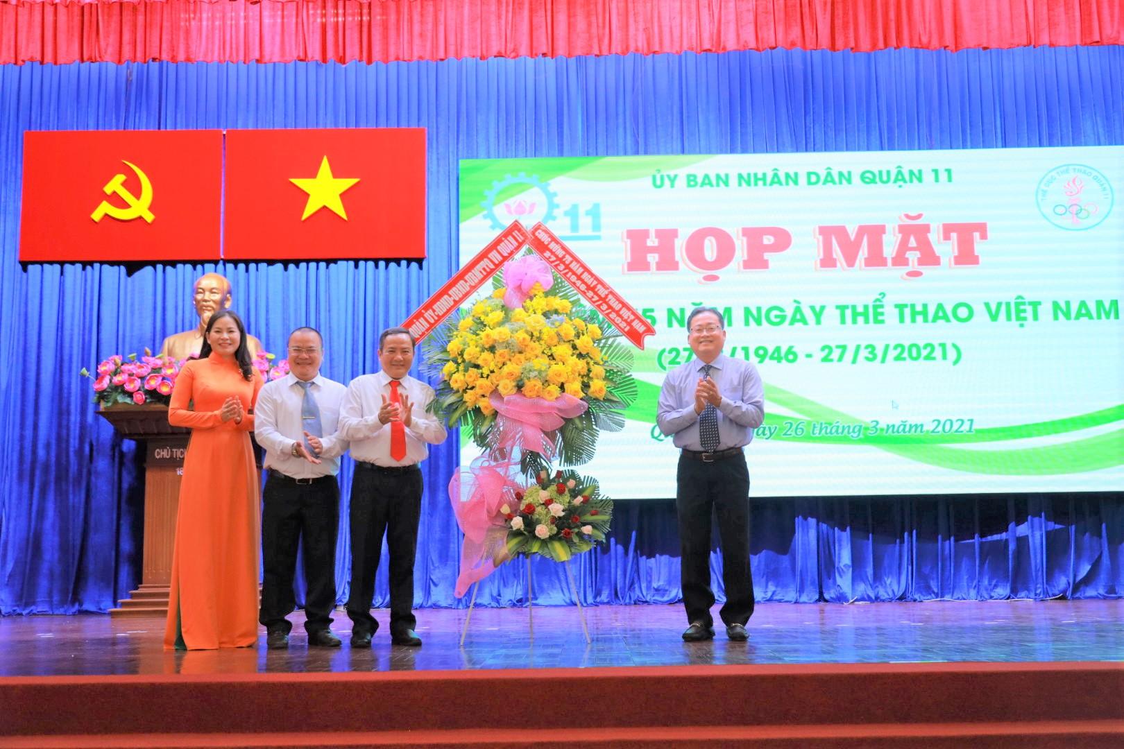 Hình ảnh: Quận 11 tổ chức họp mặt kỷ niệm 75 năm Ngày Thể thao Việt Nam số 2