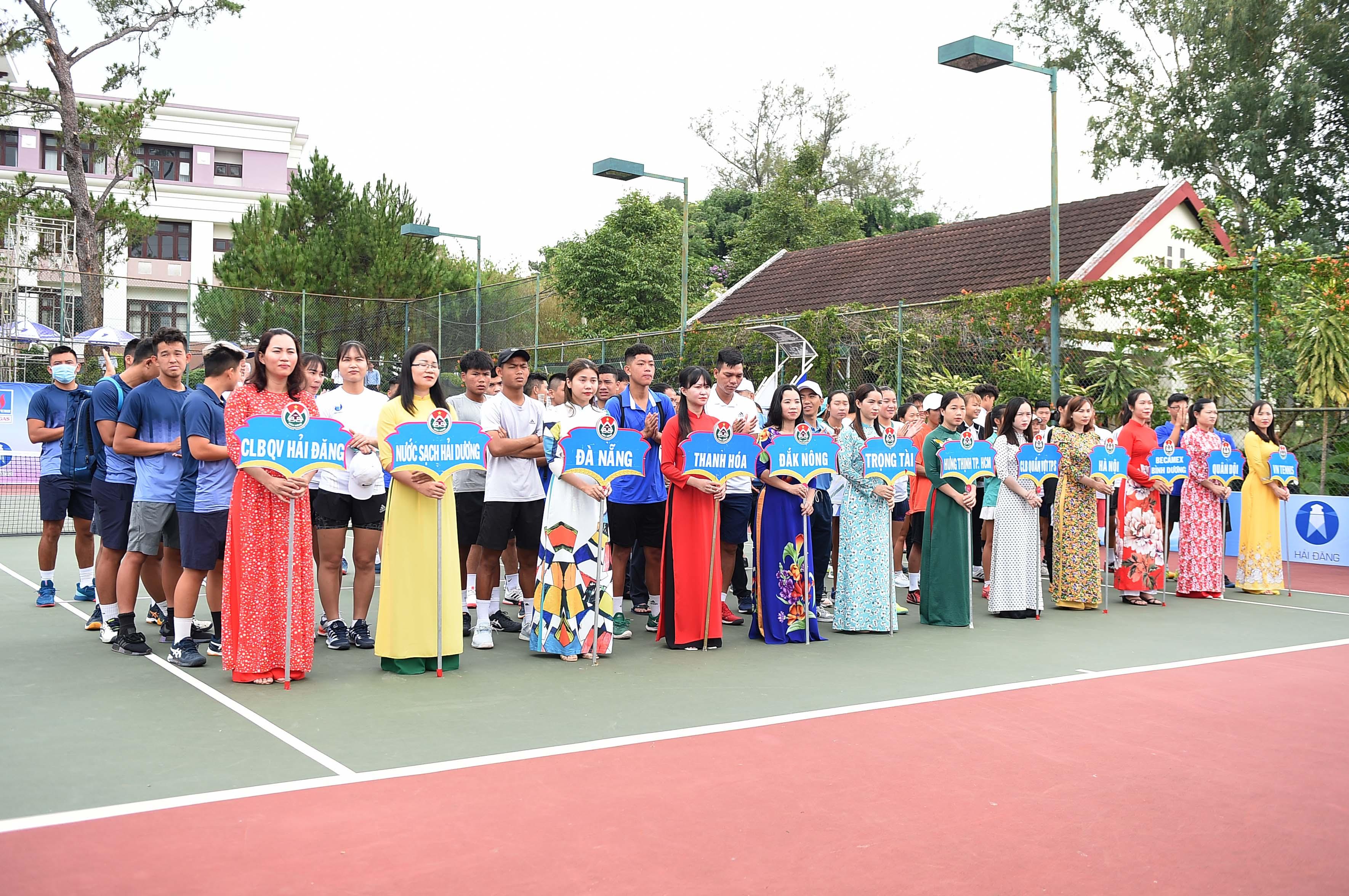 Hình ảnh: Giải quần vợt Vô địch Đồng đội Quốc gia – Đăk Nông 2021: TP.HCM khởi đầu thuận lợi số 1