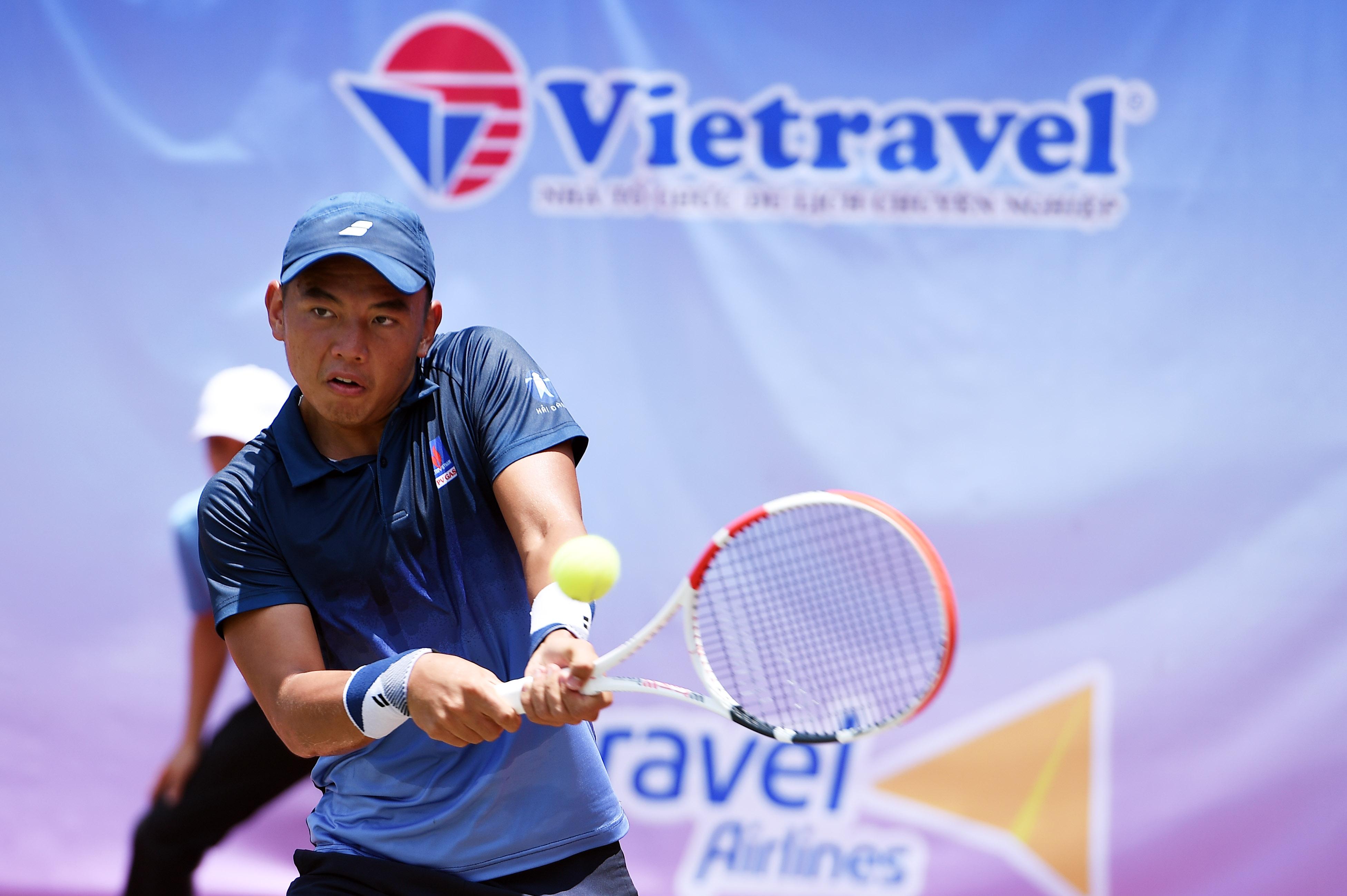 Hình ảnh: Giải quần vợt Vô địch Đồng đội Quốc – Đăk Nông 2021: Lý Hoàng Nam có mặt ở tứ kết, TP.HCM tiếp tục thăng hoa số 2