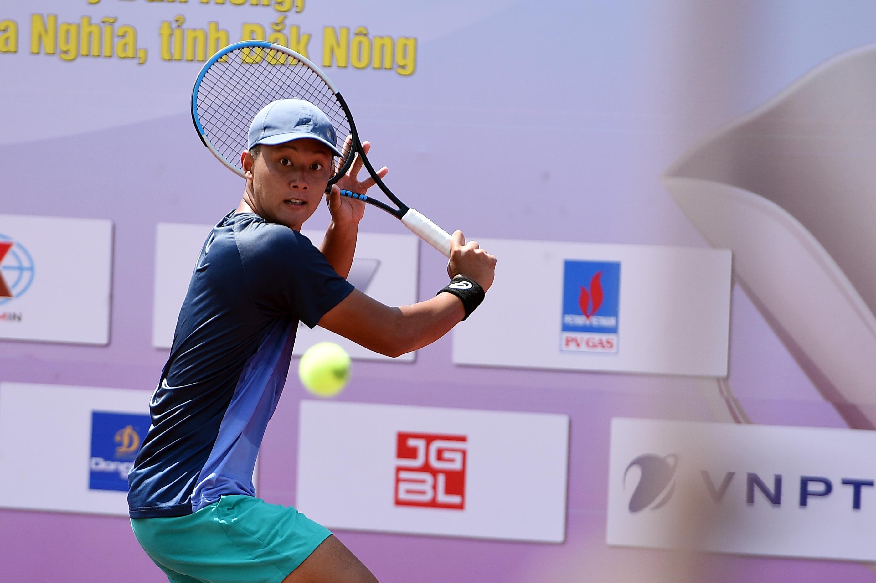 Hình ảnh: Giải quần vợt Vô địch Đồng đội Quốc – Đăk Nông 2021: Lý Hoàng Nam có mặt ở tứ kết, TP.HCM tiếp tục thăng hoa số 1