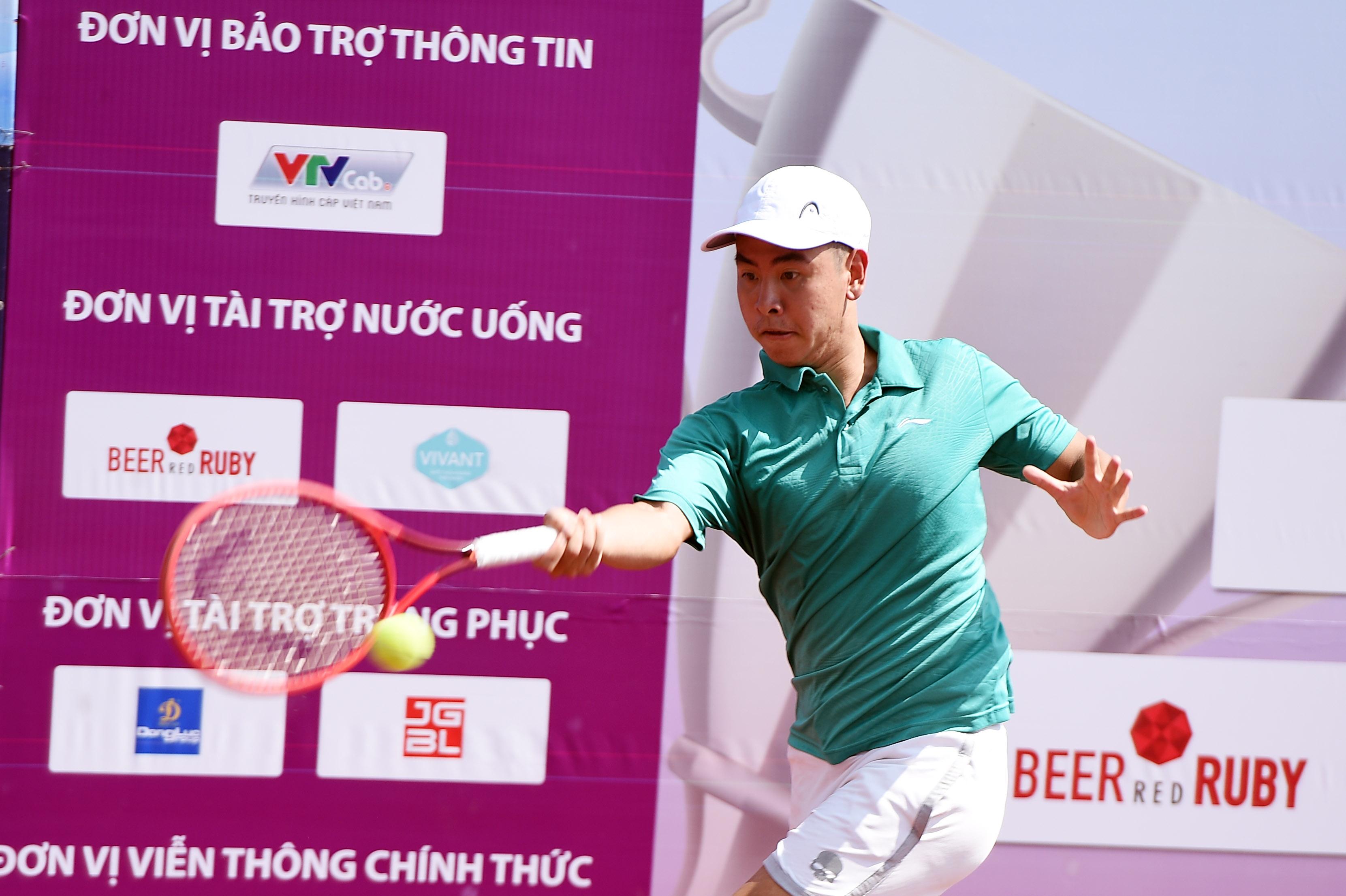 Hình ảnh: Giải quần vợt Vô địch Đồng đội Quốc – Đăk Nông 2021: Lý Hoàng Nam có mặt ở tứ kết, TP.HCM tiếp tục thăng hoa số 4