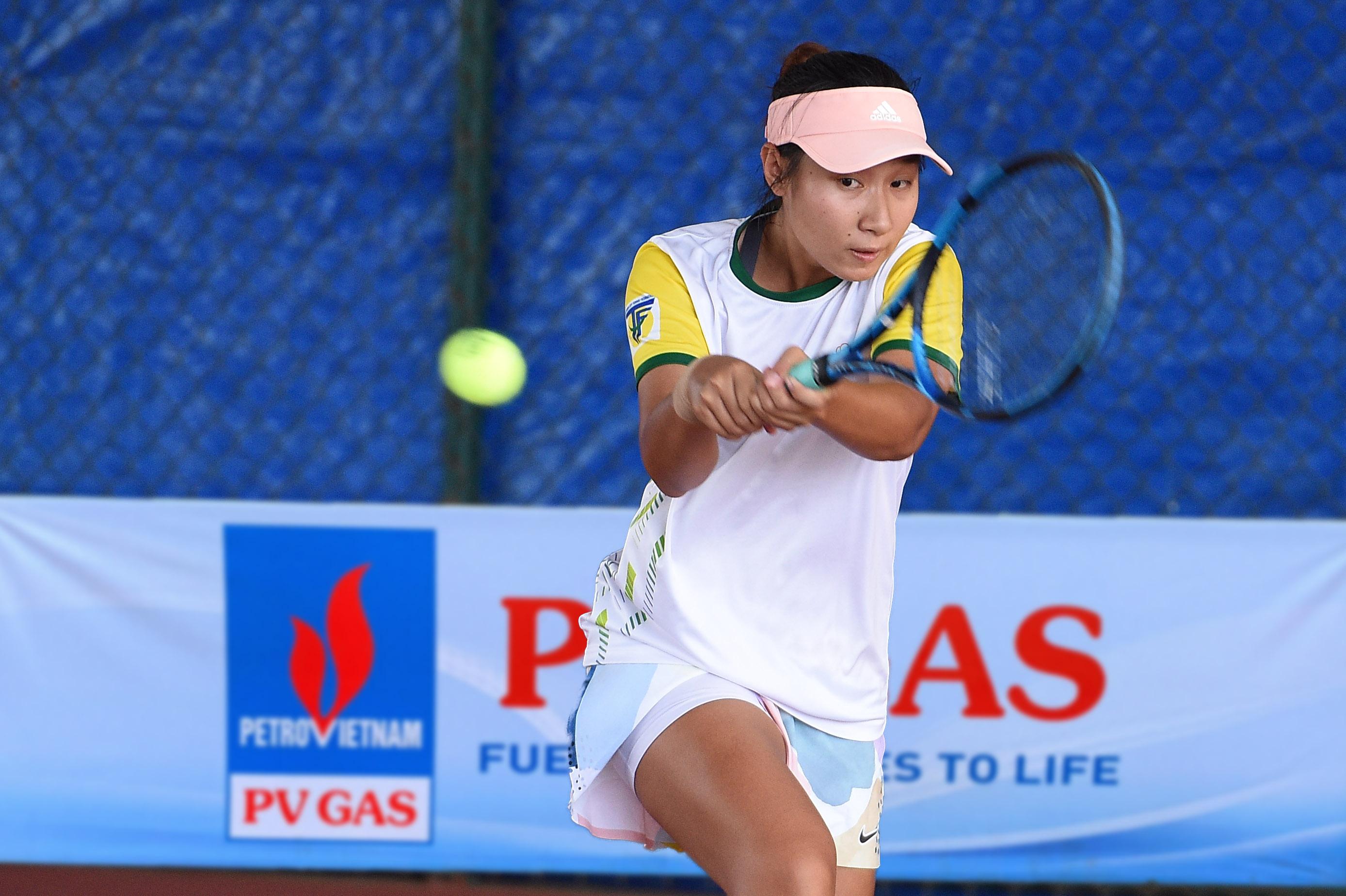 Hình ảnh: Giải quần vợt vô địch đồng đội Quốc gia 2021: Cuộc chiến đầy duyên nợ ở chung kết đồng đội nữ số 1