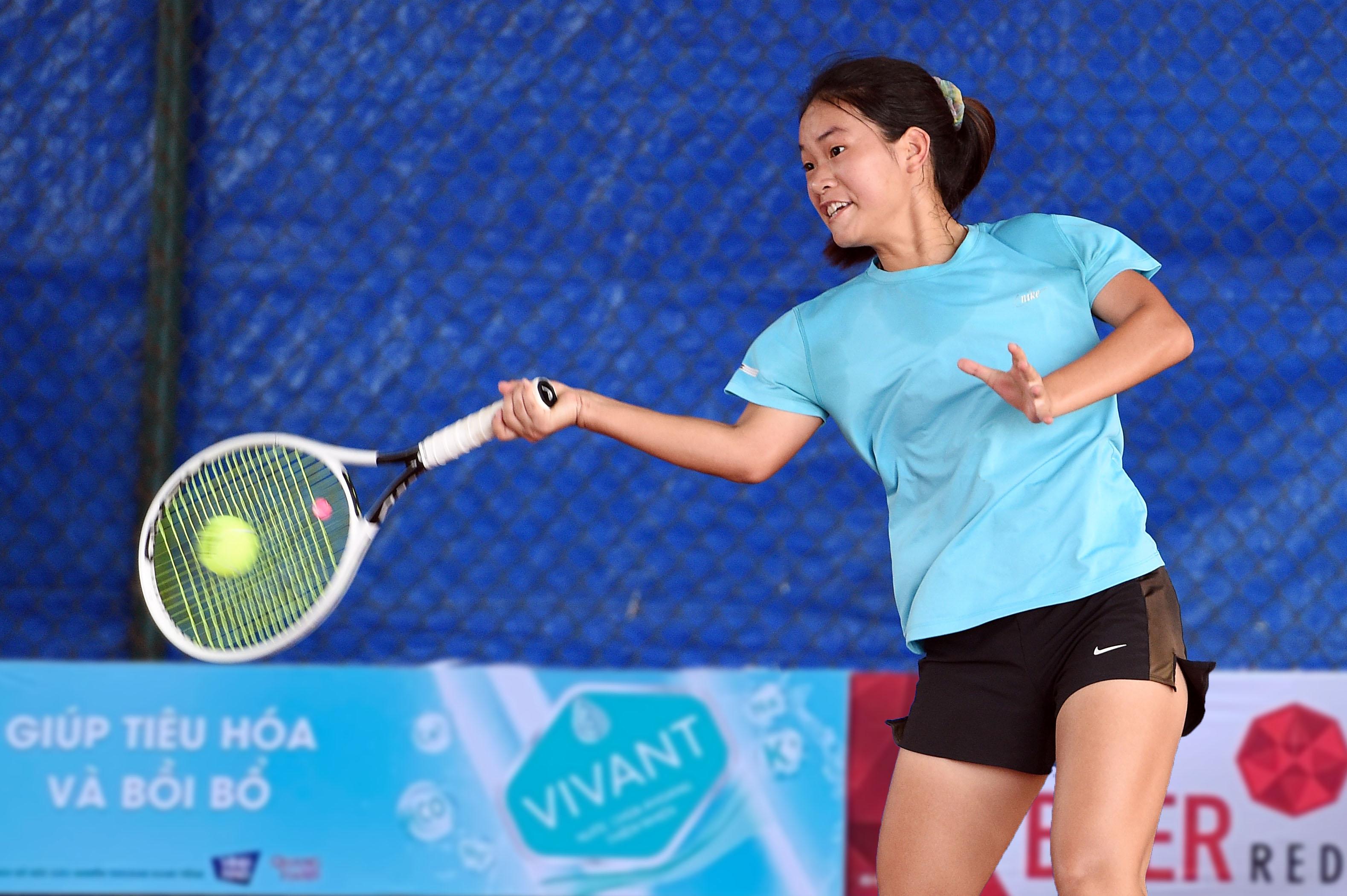 Hình ảnh: Giải quần vợt vô địch đồng đội Quốc gia 2021: Cuộc chiến đầy duyên nợ ở chung kết đồng đội nữ số 2
