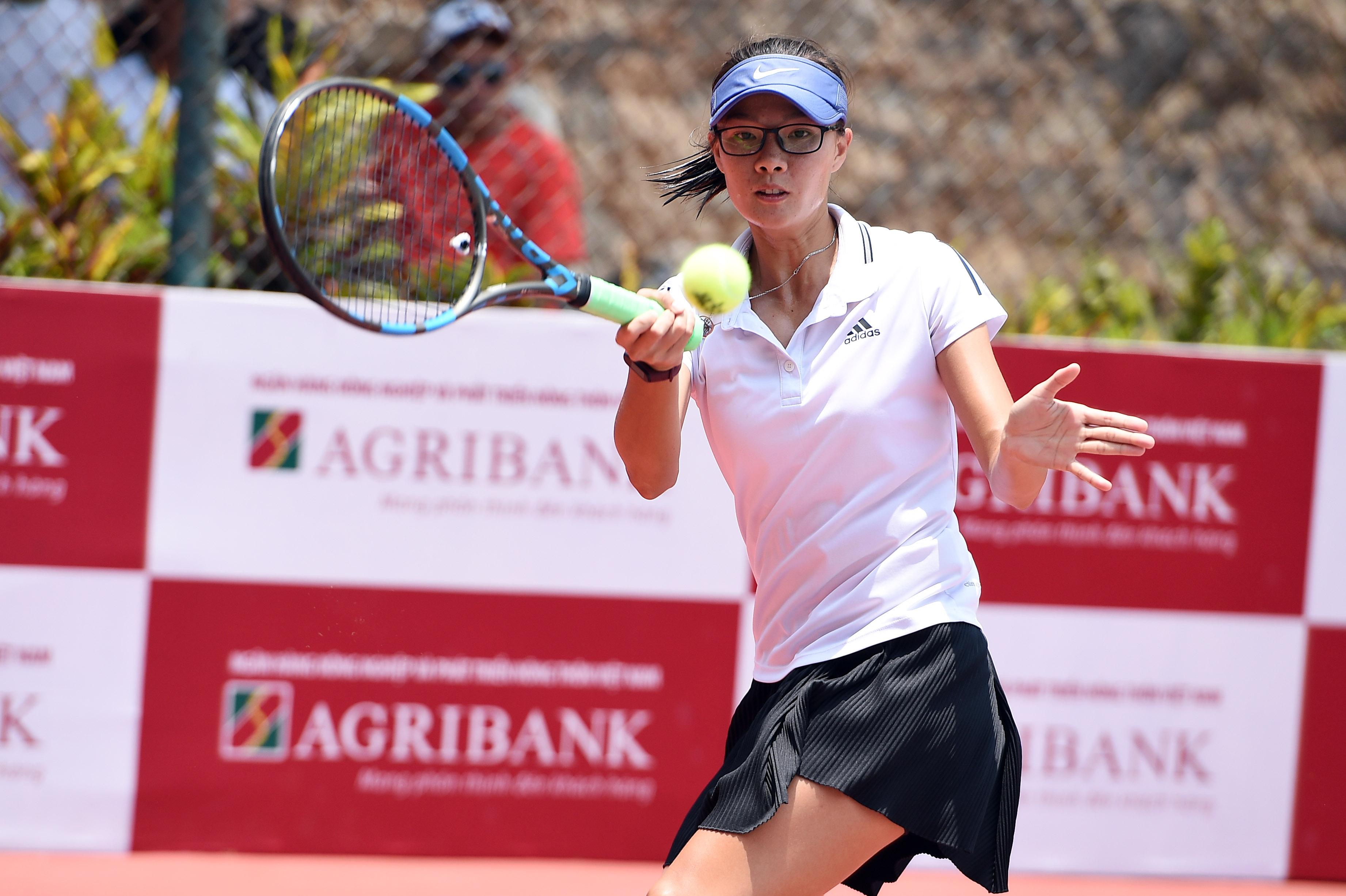 Hình ảnh: Giải quần vợt vô địch đồng đội Quốc gia 2021: Cuộc chiến đầy duyên nợ ở chung kết đồng đội nữ số 3
