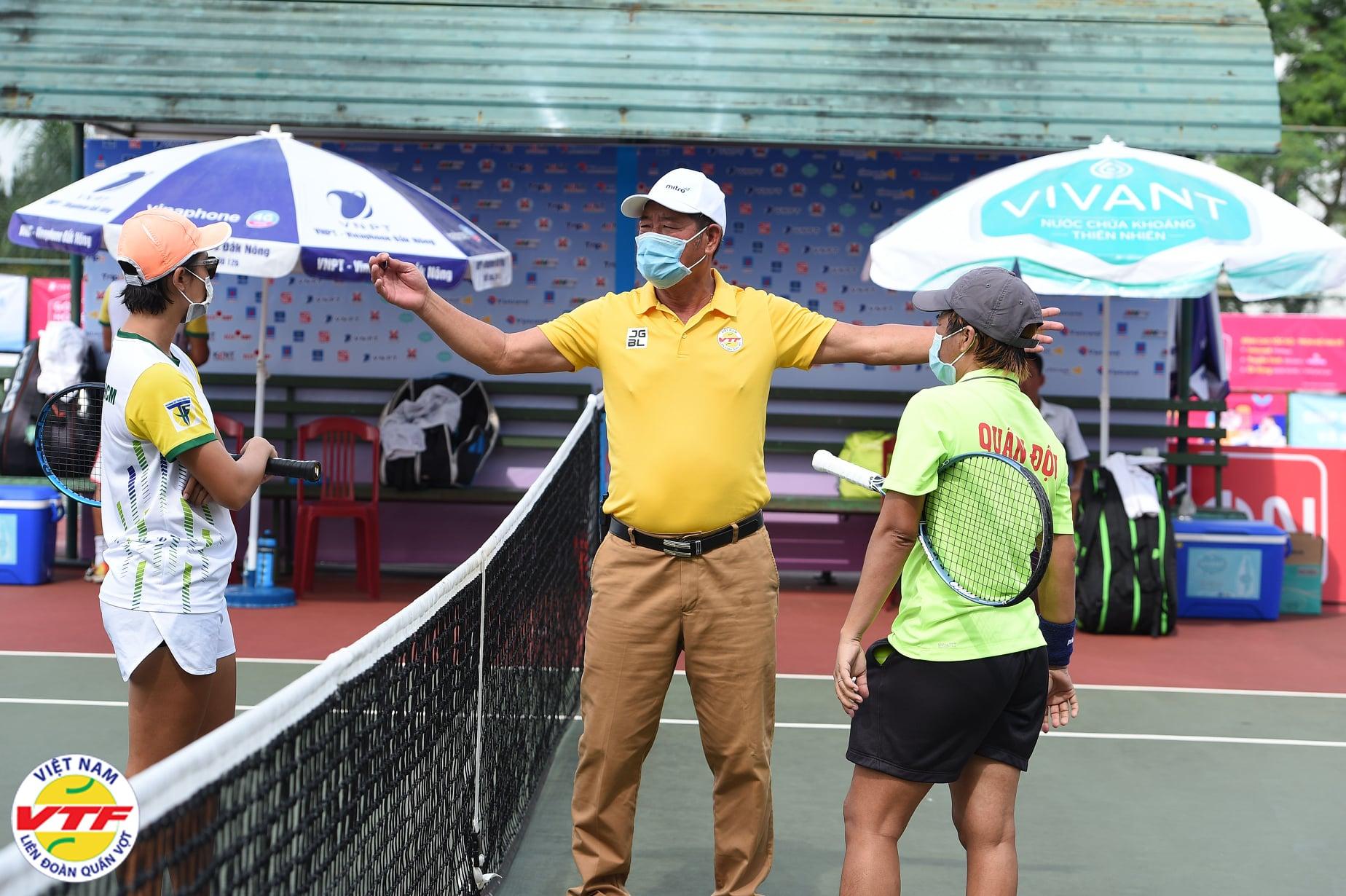 Hình ảnh: Nữ Hưng Thịnh TP.HCM đăng quang Giải quần vợt vô địch đồng đội Quốc gia 2021 số 1