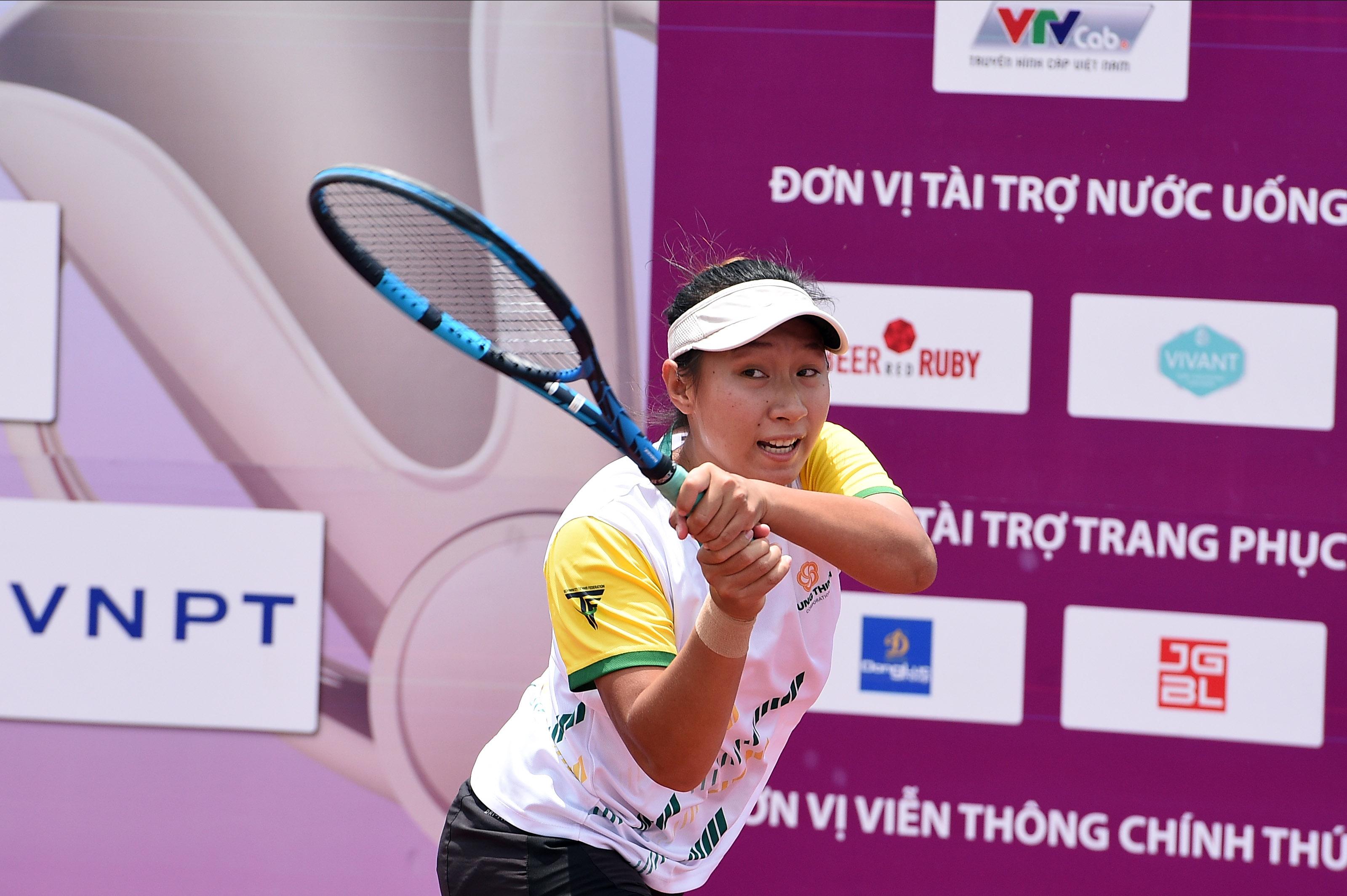 Hình ảnh: Nữ Hưng Thịnh TP.HCM đăng quang Giải quần vợt vô địch đồng đội Quốc gia 2021 số 2