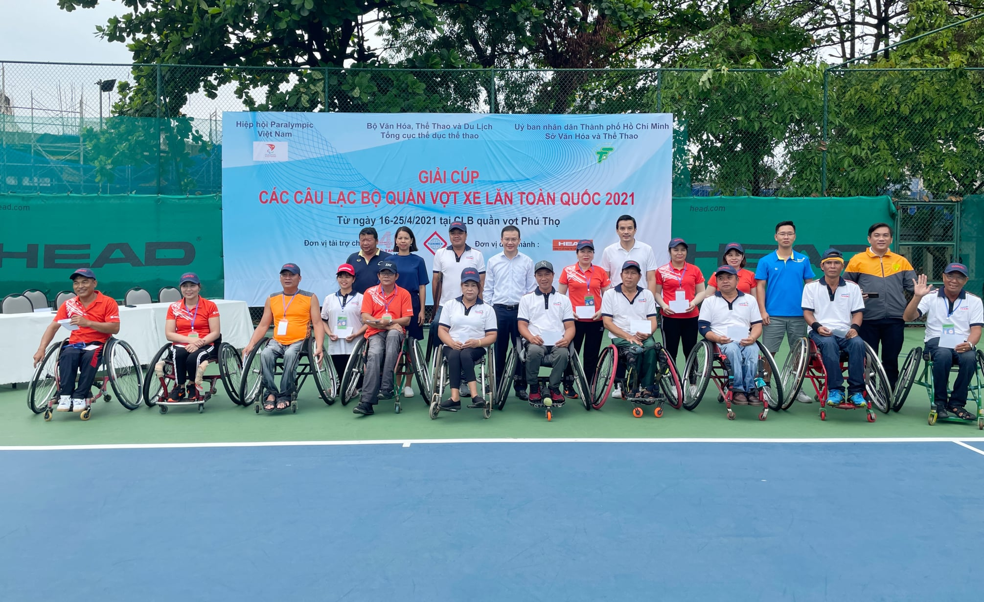 Hình ảnh: Giải các câu lạc bộ quần vợt xe lăn Toàn quốc - Cúp Tanimex 2021: Ý nghĩa trong ngày Đặc biệt số 1