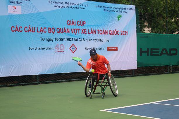 Hình ảnh: Giải các câu lạc bộ quần vợt xe lăn Toàn quốc - Cúp Tanimex 2021: Ý nghĩa trong ngày Đặc biệt số 2