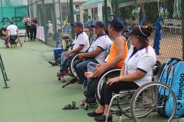 Hình ảnh: Giải các câu lạc bộ quần vợt xe lăn Toàn quốc - Cúp Tanimex 2021: Ý nghĩa trong ngày Đặc biệt số 5