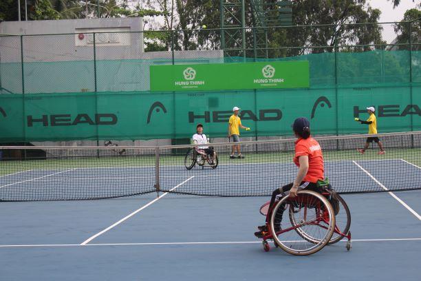 Hình ảnh: Giải các câu lạc bộ quần vợt xe lăn Toàn quốc - Cúp Tanimex 2021: Ý nghĩa trong ngày Đặc biệt số 3