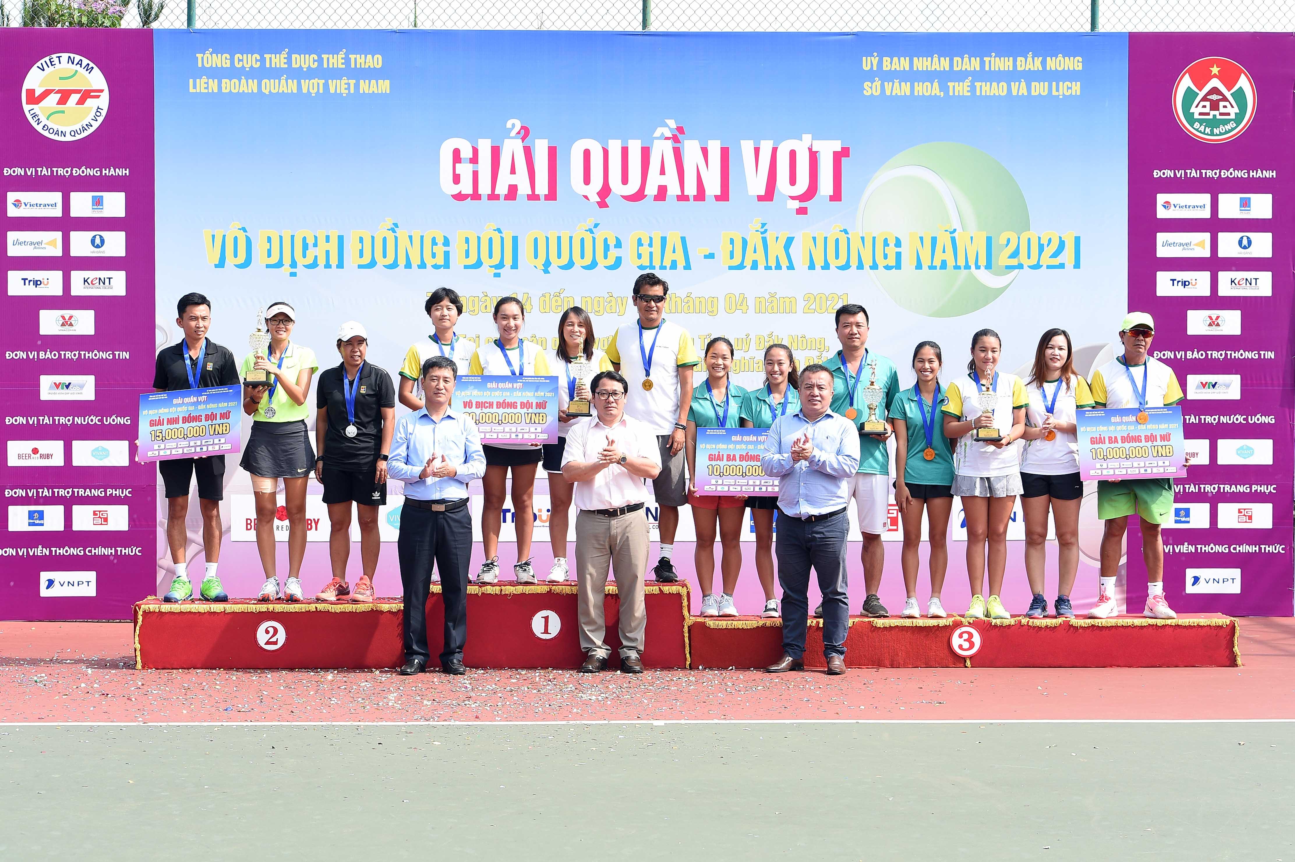 Hình ảnh: Giải quần vợt vô địch đồng đội Quốc gia 2021 kết thúc thành công tốt đẹp số 6