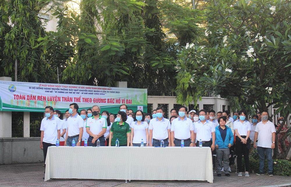 Hình ảnh: Quận 4: Nhộn nhịp ngày đi bộ truyền thống gây quỹ khuyến học lần XV số 1