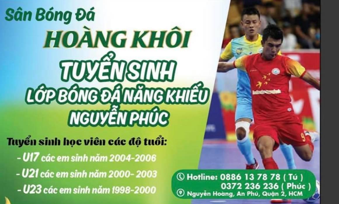Hình ảnh: Cựu cầu thủ Futsal Nguyễn Phúc: Ươm mầm tài năng trẻ số 2