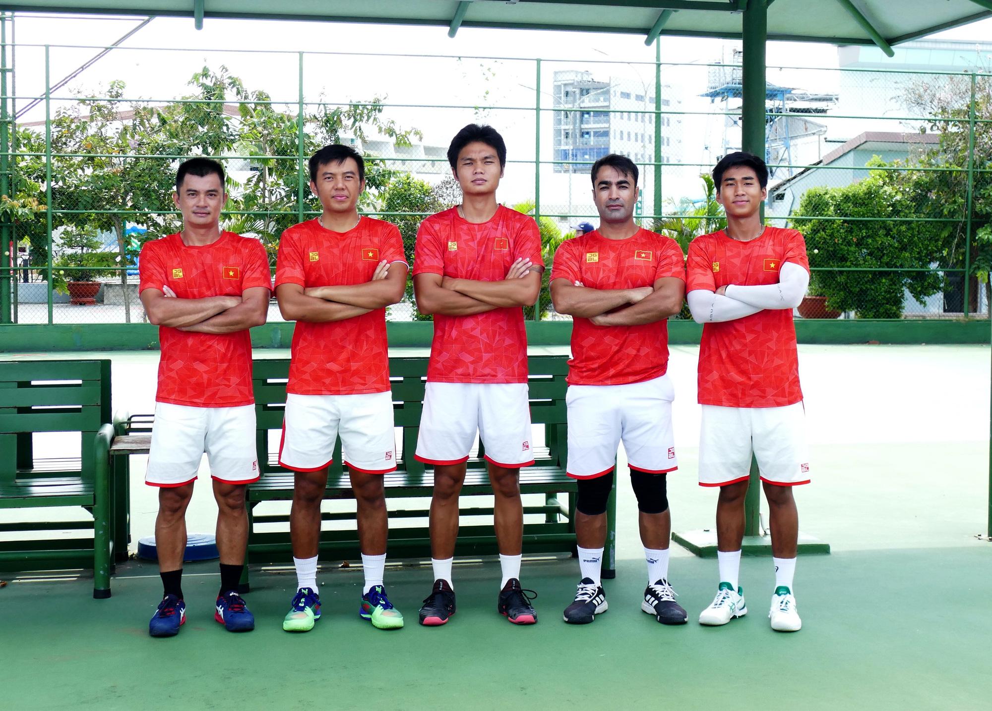 Hình ảnh: Tuyển quần vợt Việt Nam sắp dự Davis Cup nhóm III khu vực Châu Á – Thái Bình Dương 2021 số 1