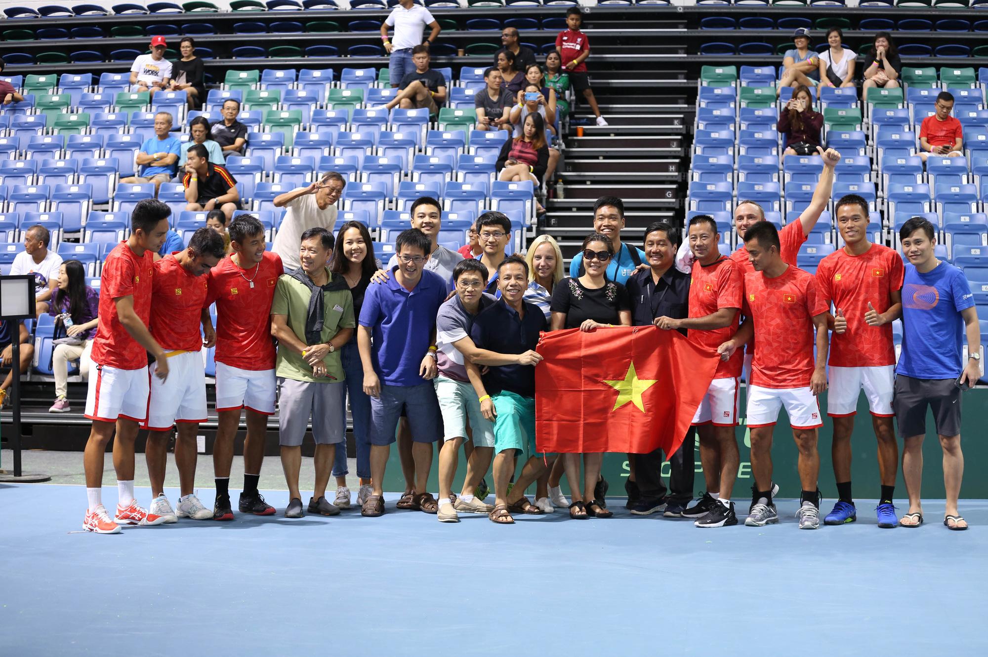 Hình ảnh: Tuyển quần vợt Việt Nam sắp dự Davis Cup nhóm III khu vực Châu Á – Thái Bình Dương 2021 số 3