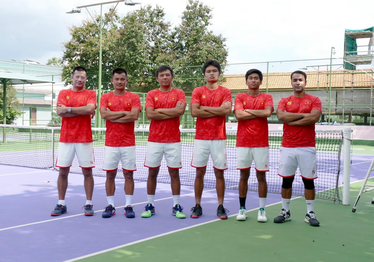 Hình ảnh: Xác định đối thủ vòng bảng của tuyển Davis Cup Việt Nam 2021 số 2