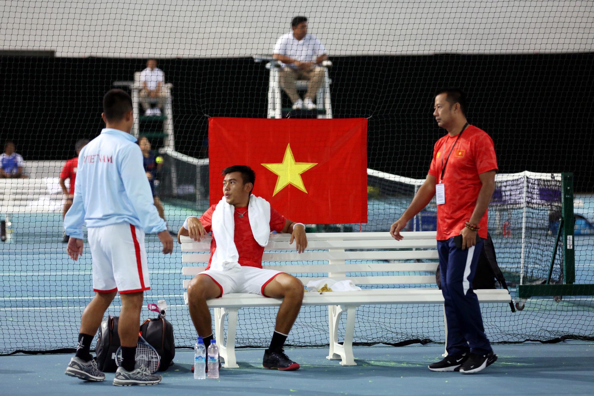 Hình ảnh: Tuyển Paciffic Oceania ấn tượng nhưng Davis Cup Việt Nam mới xuất sắc số 2